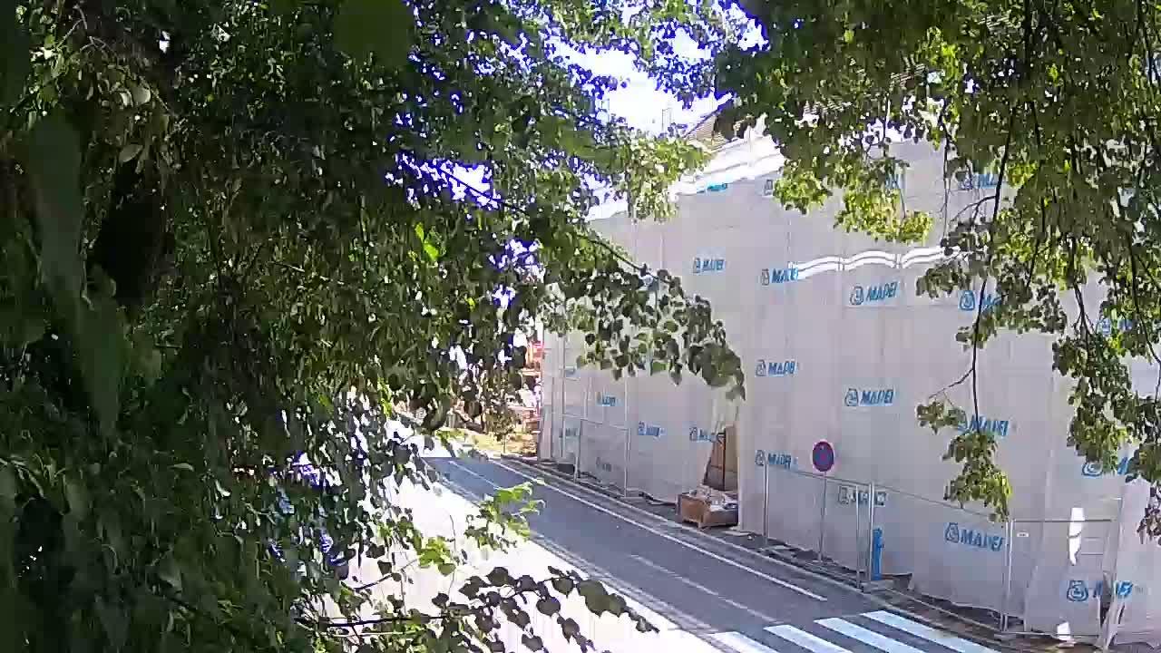 Webcam en vivo parque Petrinja – después del terremoto