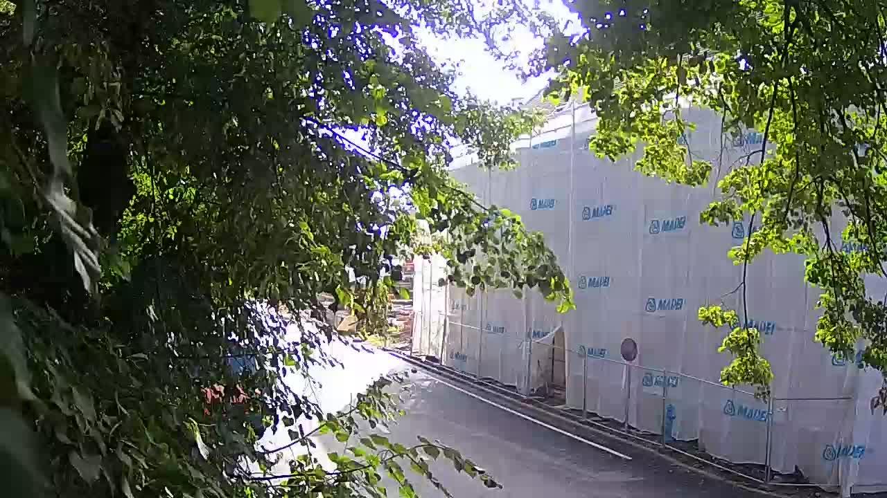 Web kamera uživo Petrinja centralni park – nakon potresa