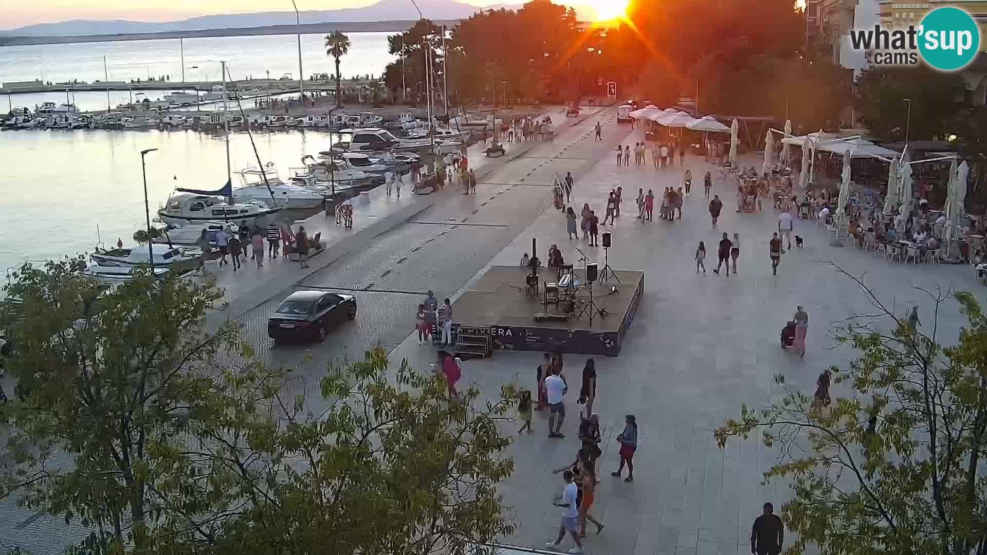 Crikvenica – Piazza Stjepan Radić
