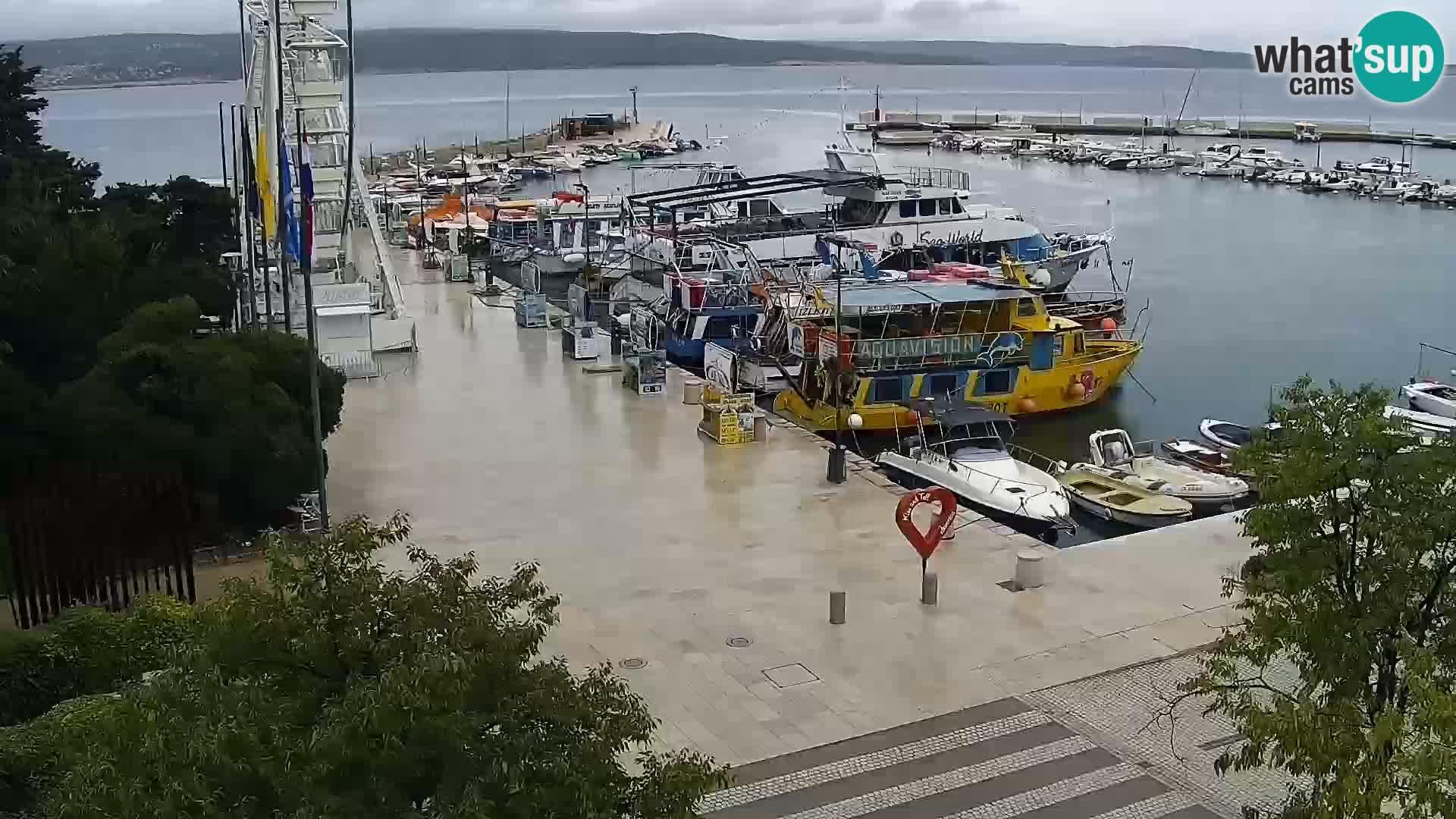 Crikvenica – Stjepan Radić platz