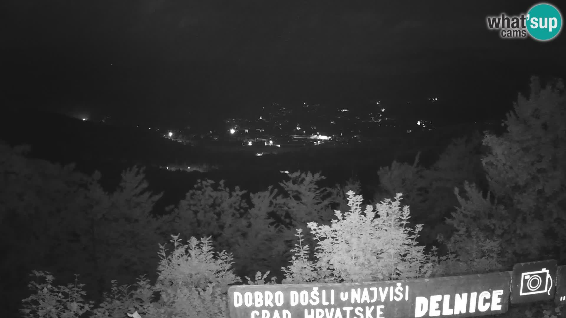 Panorama Delnice – de Ski centar Petehovac