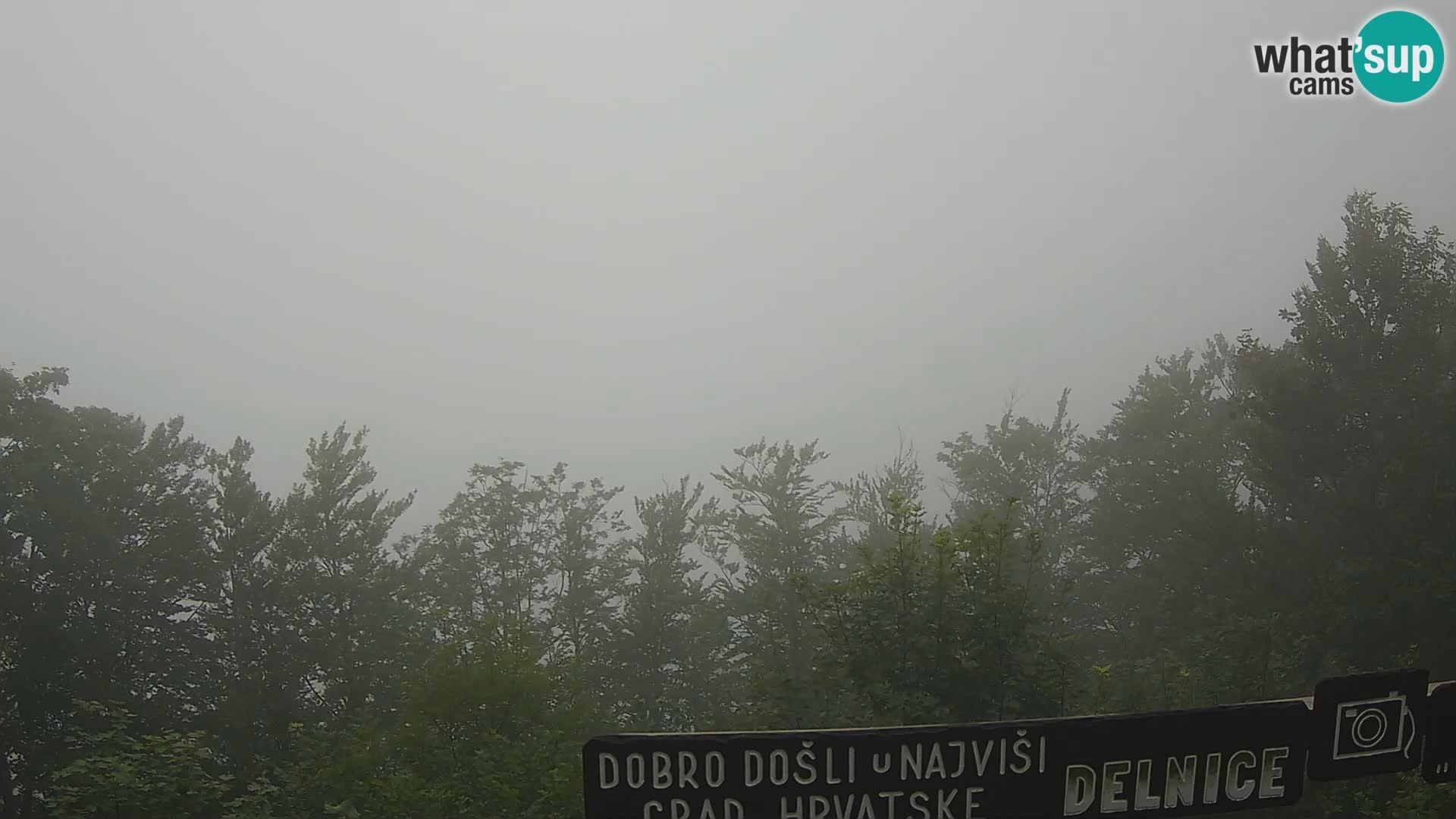 Panorama di Delnice – dalla stazione sciistica Petehovac