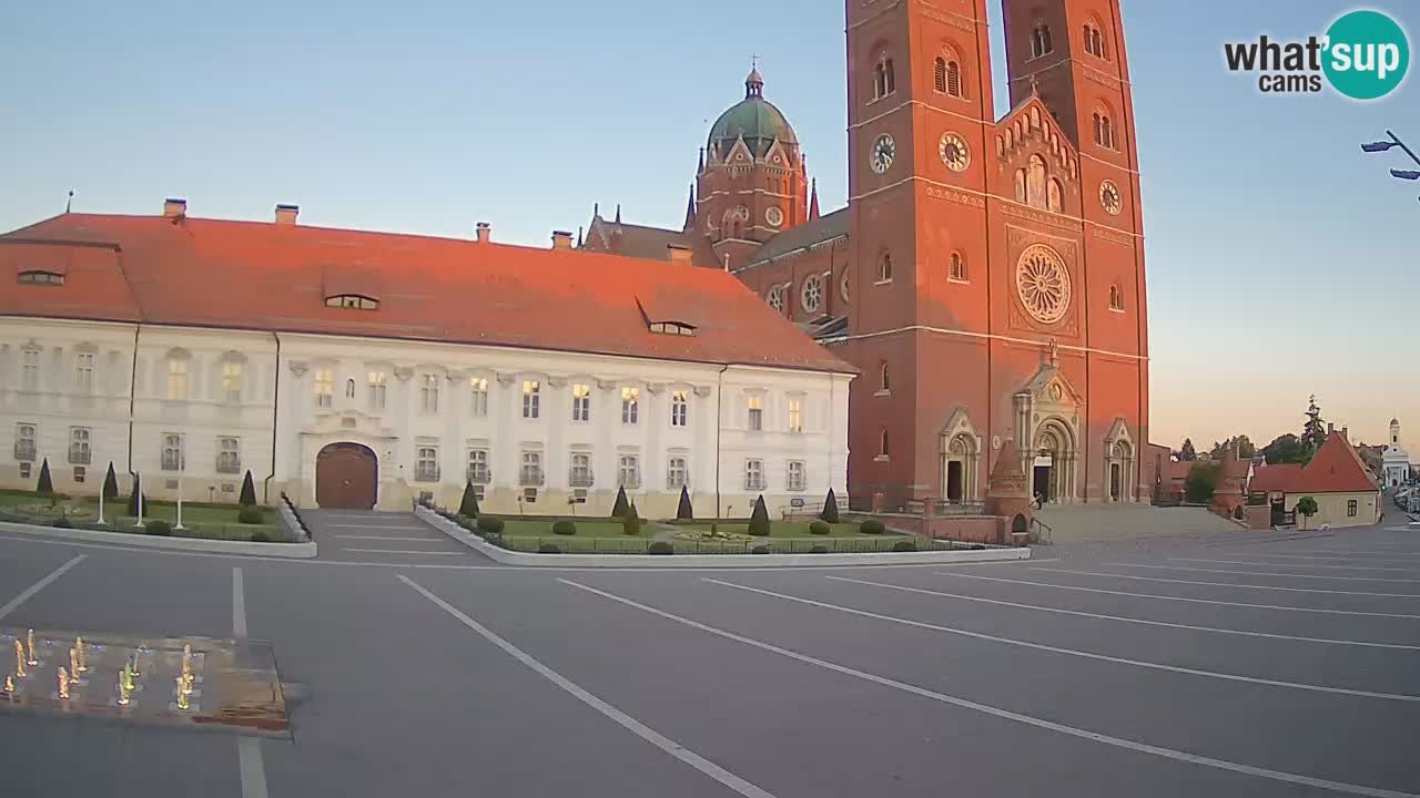 Camera en vivo Đakovo Catedral Sv. Petra