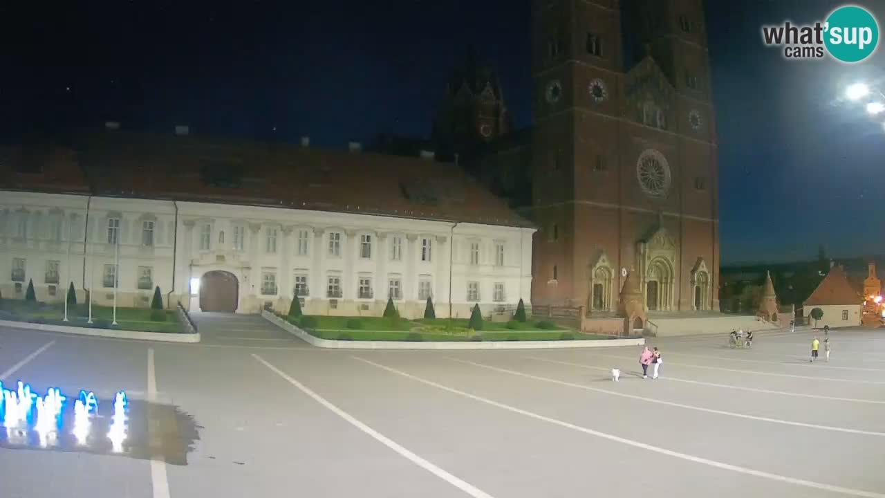 Webcam Đakovo Cathédrale Saint-Pierre