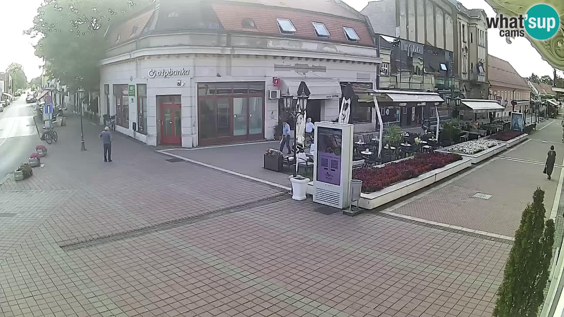 Djakovo webcam – Korzo