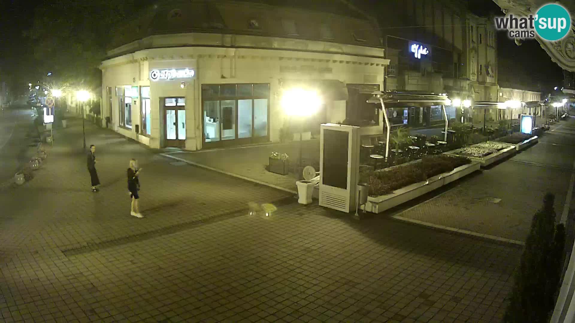 Djakovo live webcam – Korzo