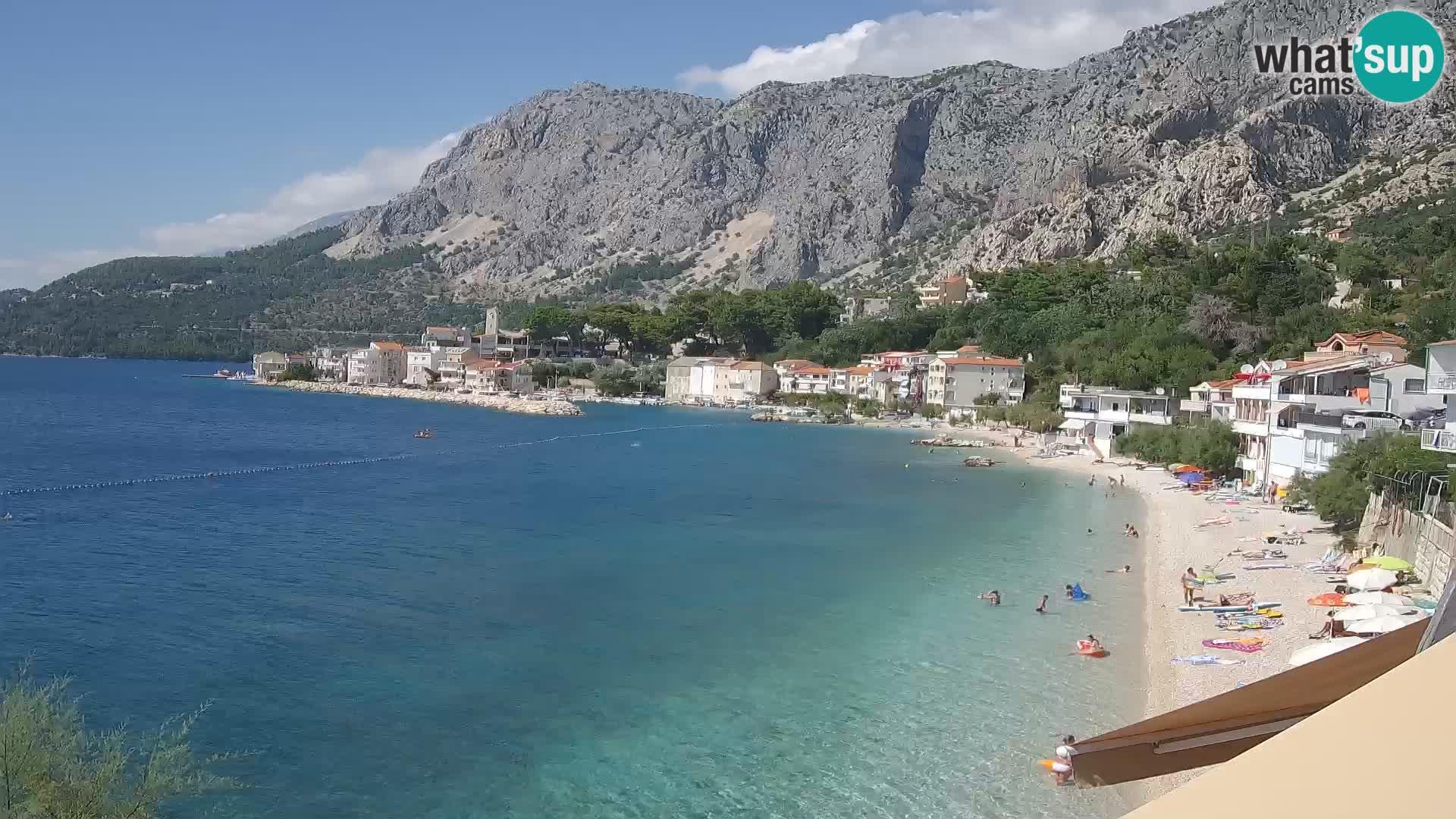 Webcam Drašnice (Podgora)  – Playa