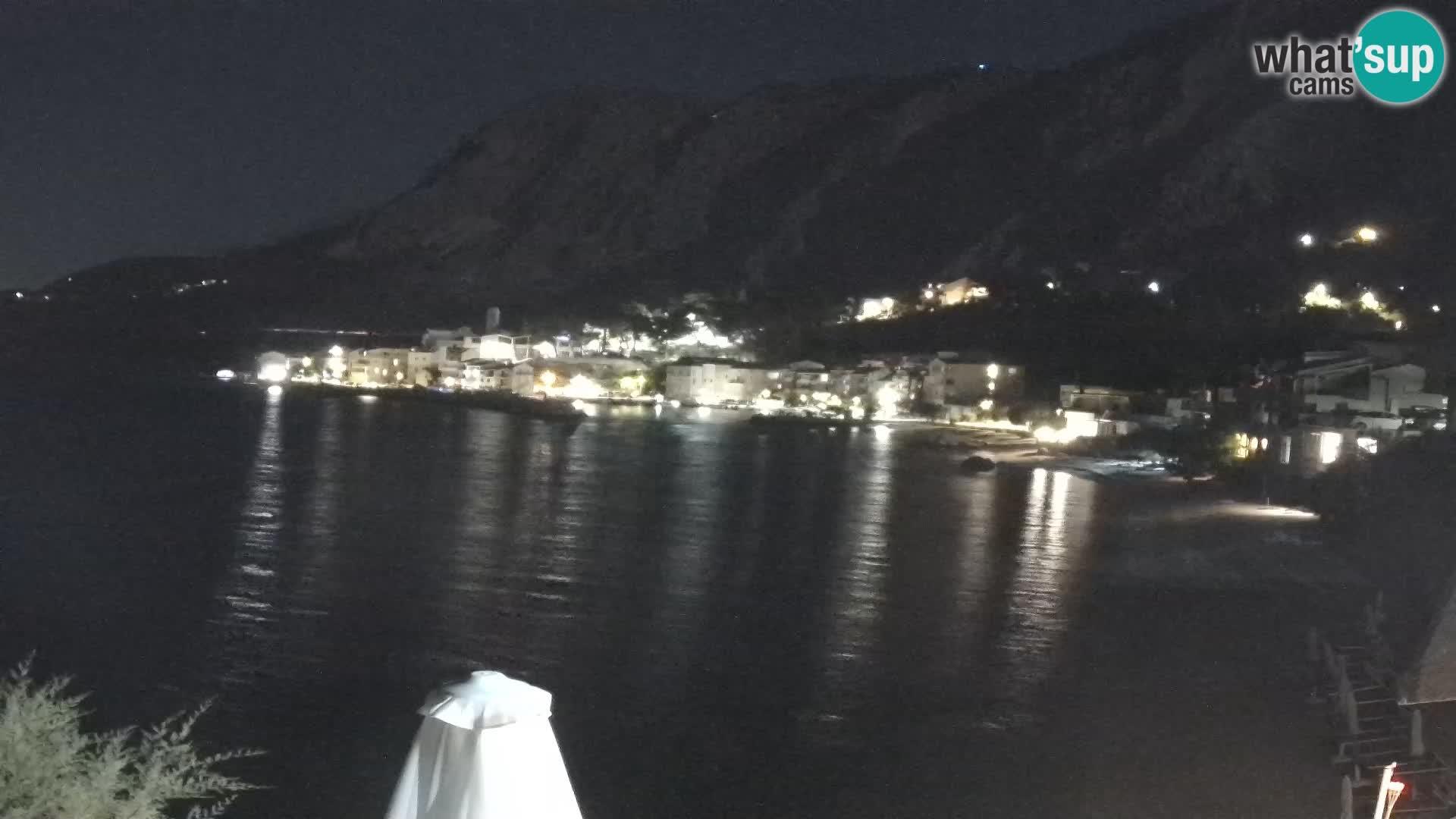 Kamera v živo Drašnice (Podgora) – Plaža