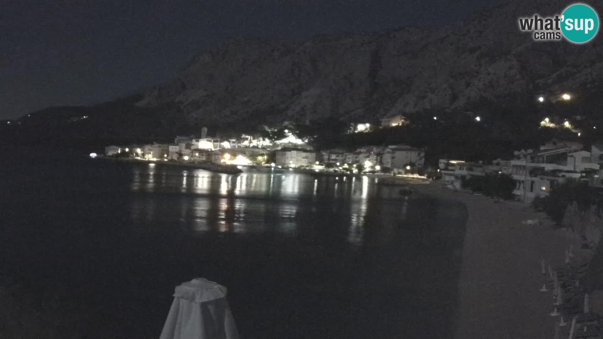 Webcam Drašnice (Podgora)  – Strand