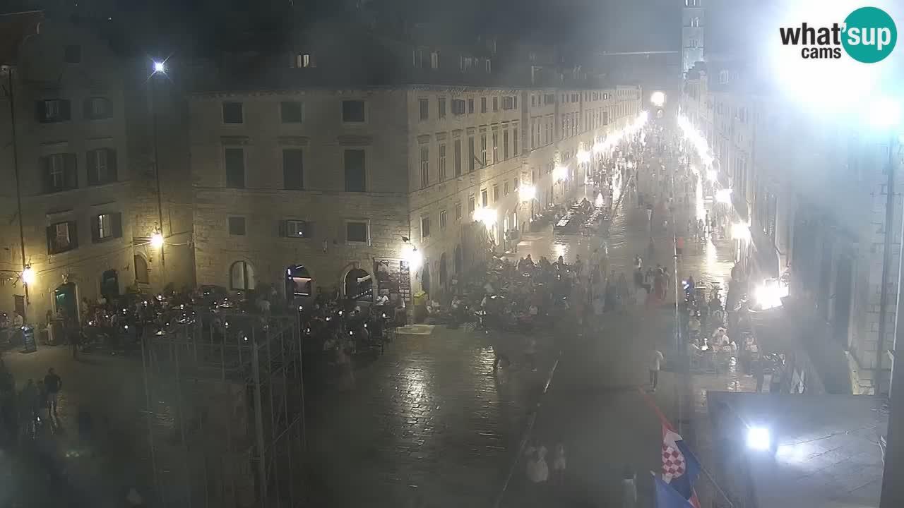 Webcam Dubrovnik – panorama de la vieille ville