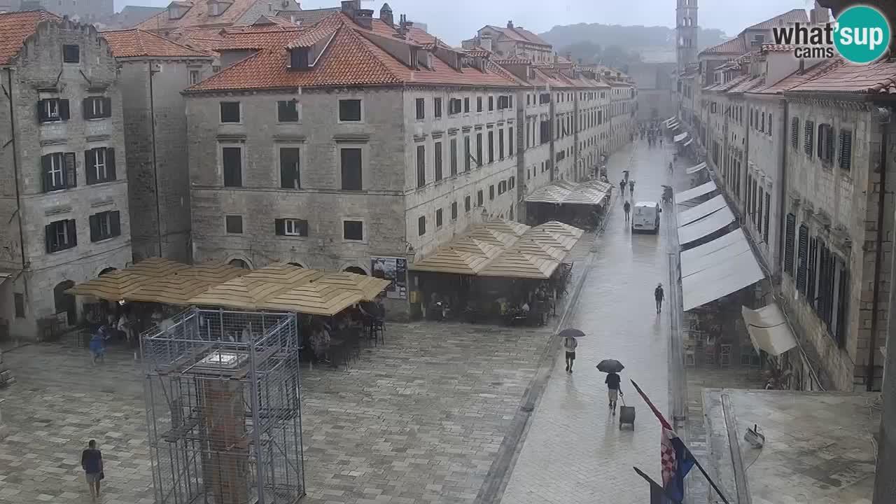 Webcam live Dubrovnik – panorama della città vecchia