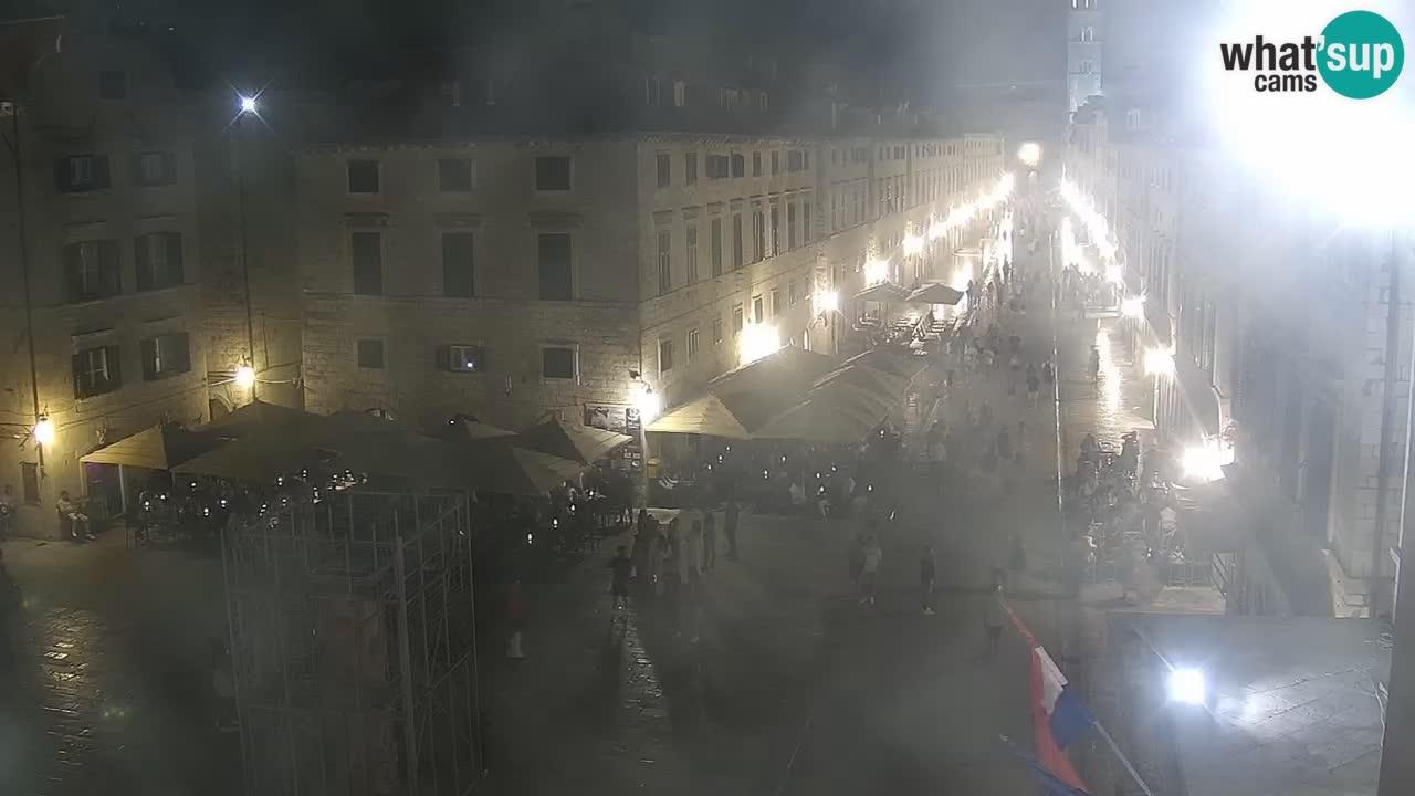 Kamera v zivo Dubrovnik – panorama na stari del mesta