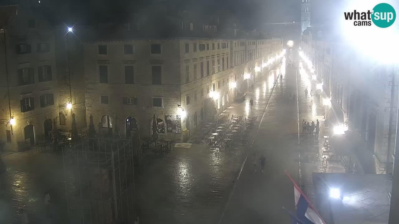 Webcam Ragusa (Dubrovnik) Stradun