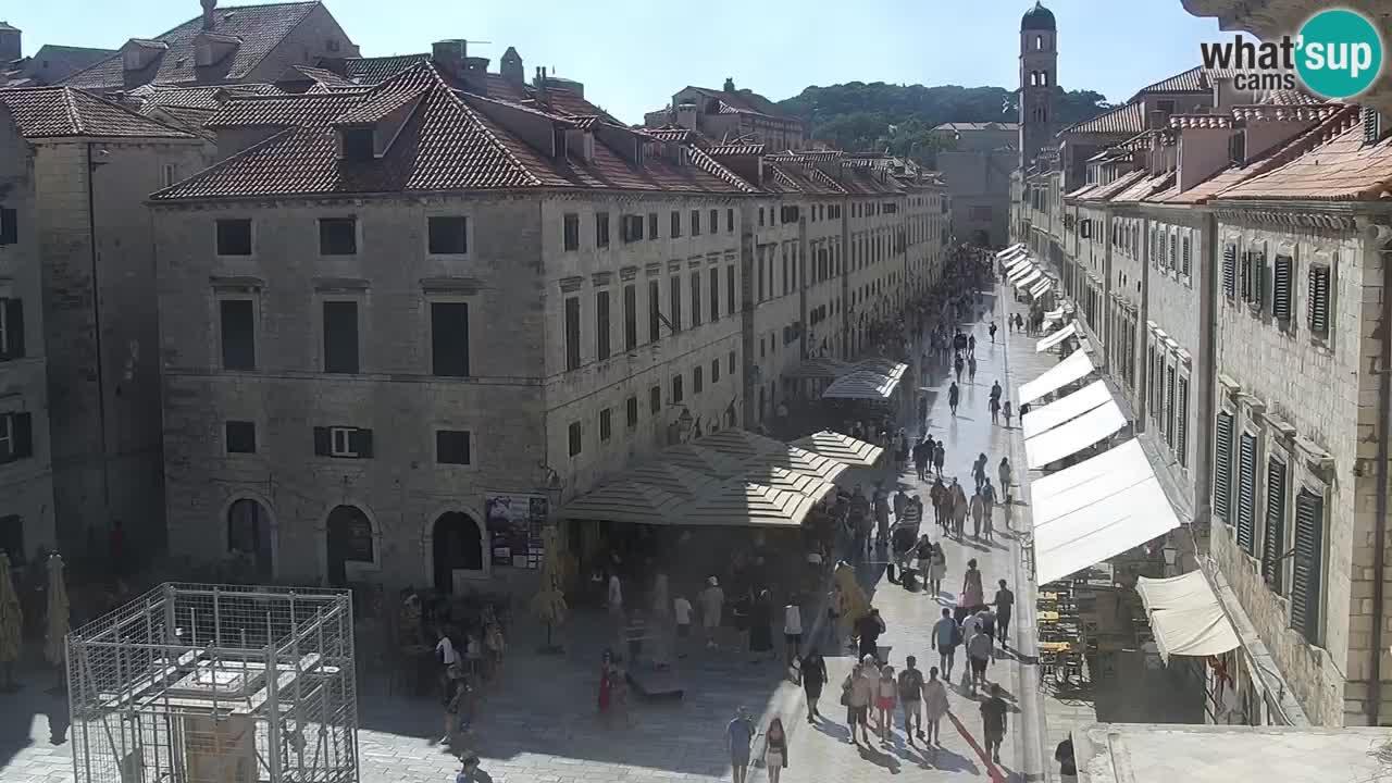 Kamera v živo Dubrovnik Stradun / Placa