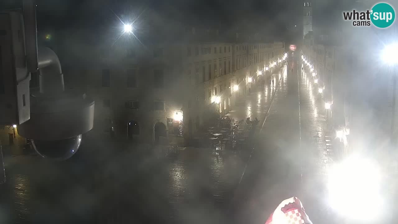 Live Webcam Dubrovnik Stradun