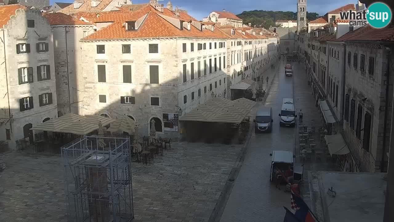 Livecam Dubrovnik Stradun