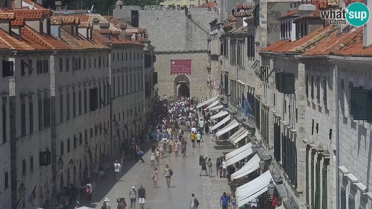 Web kamera Dubrovnik – panorama stari grad