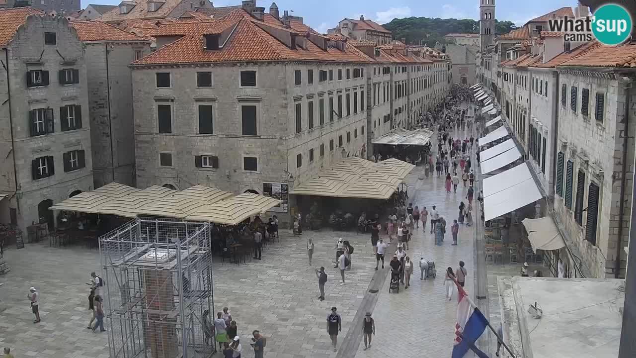 Webcam Dubrovnik – Panorama der Altstadt