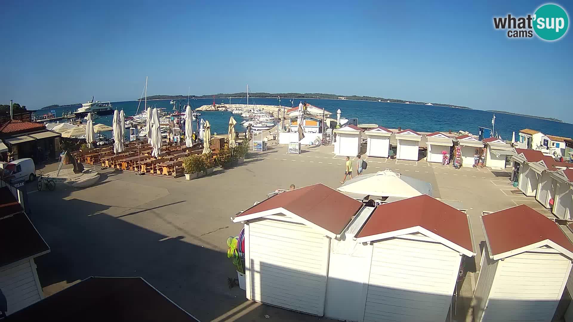 Fažana live webcam