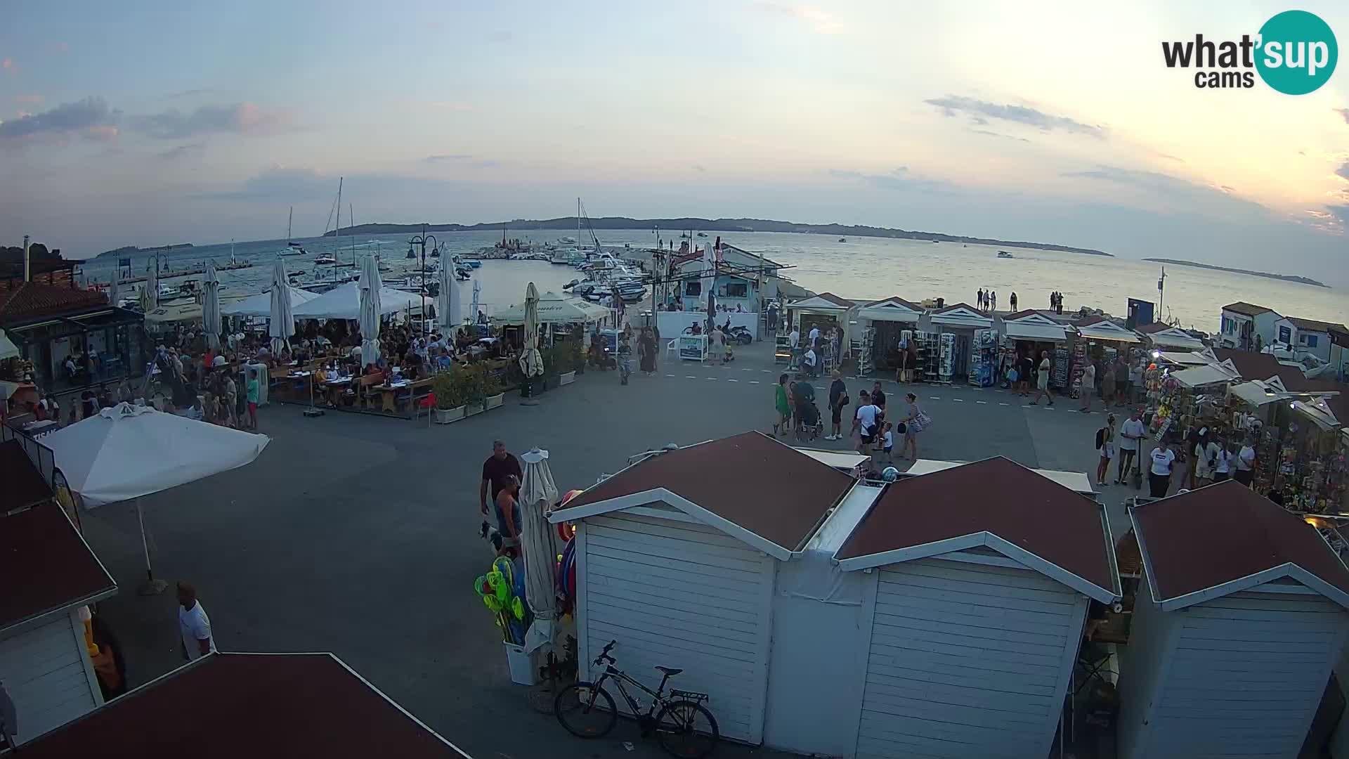 Camera en vivo Fažana
