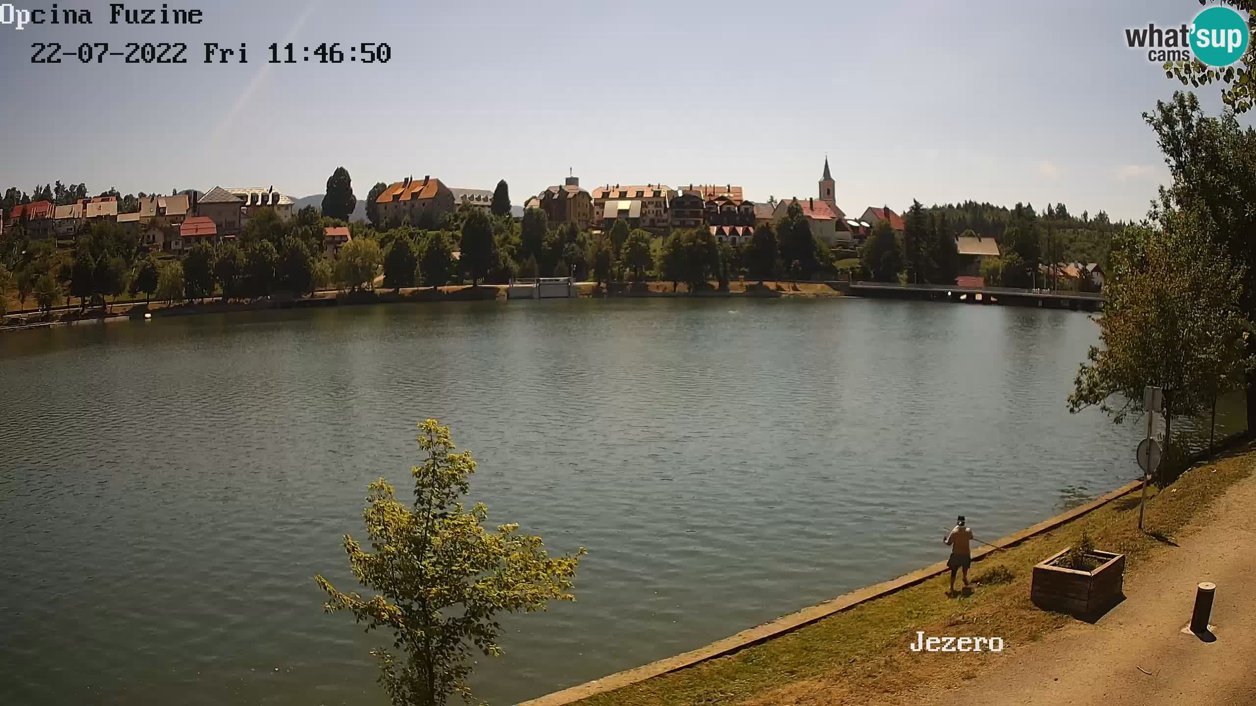 Kamera v živo Bajersko Jezero Fužine