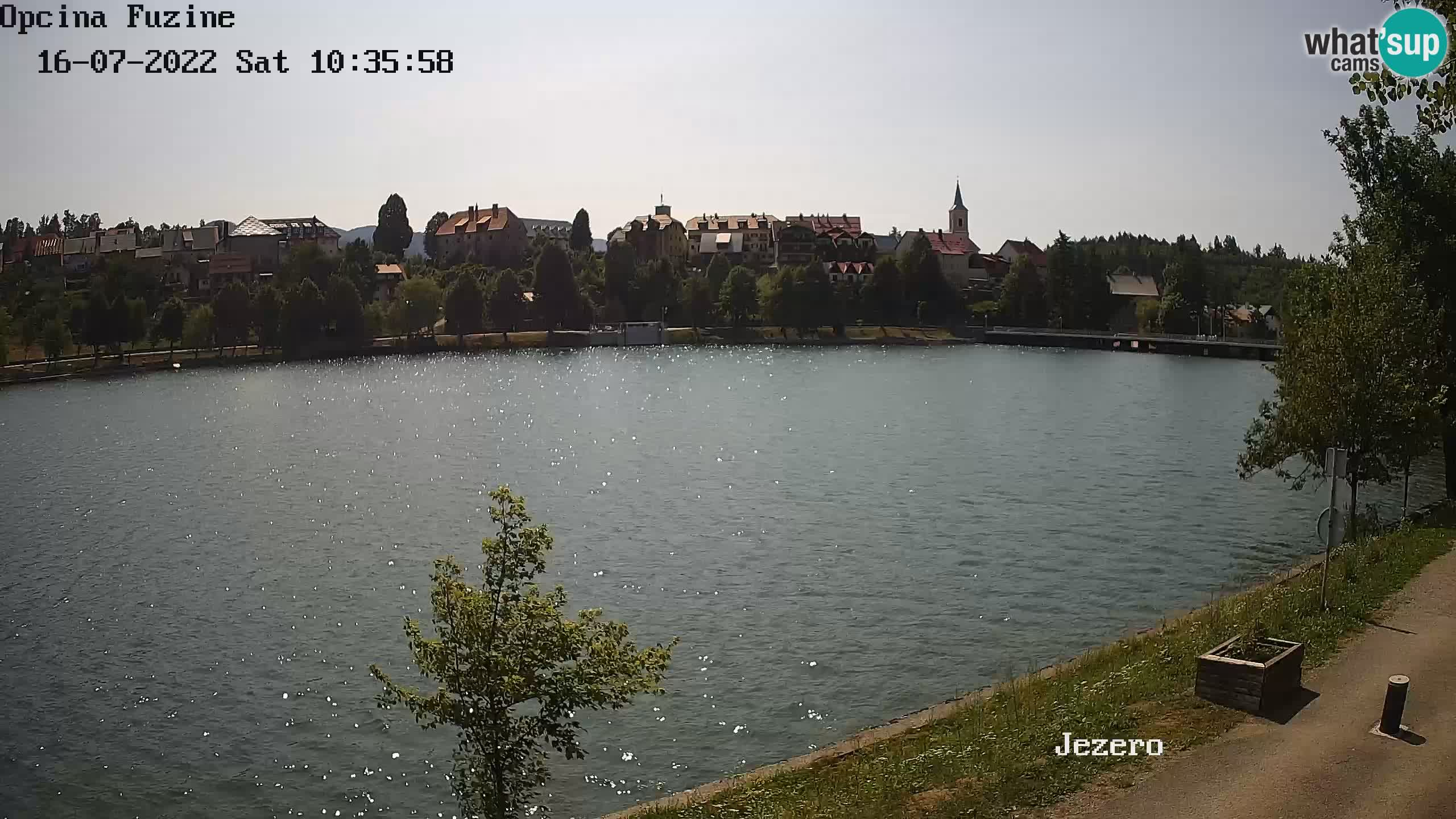 Bajersko Jezero camera en vivo lago Bajer Fužine