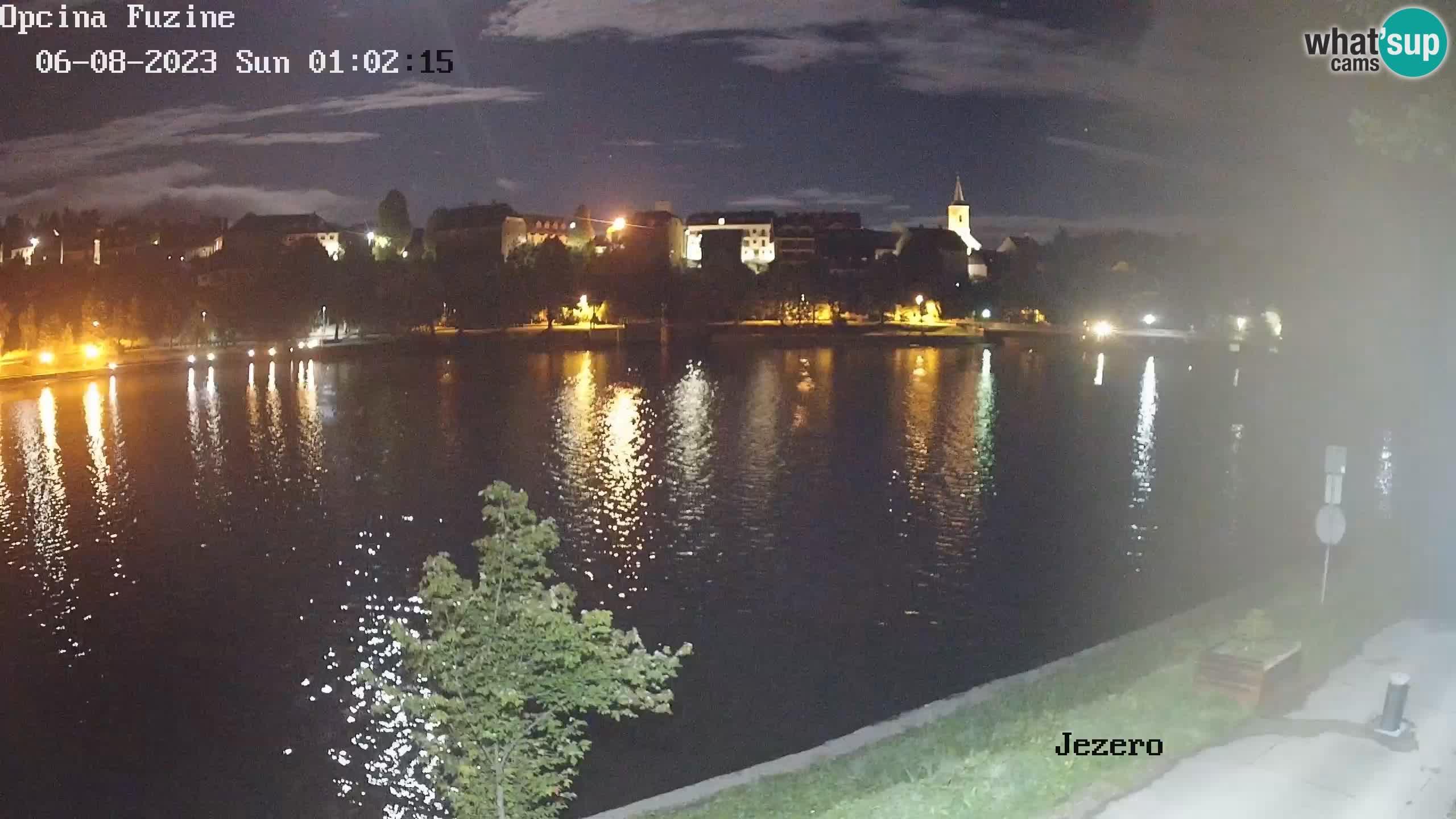 Bajersko Jezero web kamera Fužine