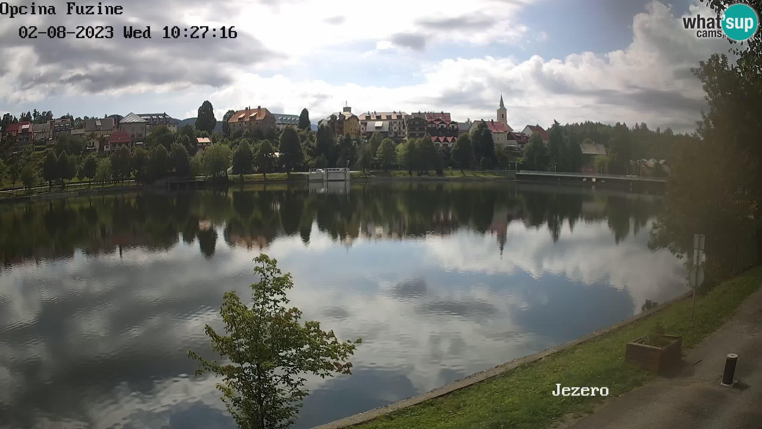 Lago Bajer livecam Bajersko Jezero Fužine