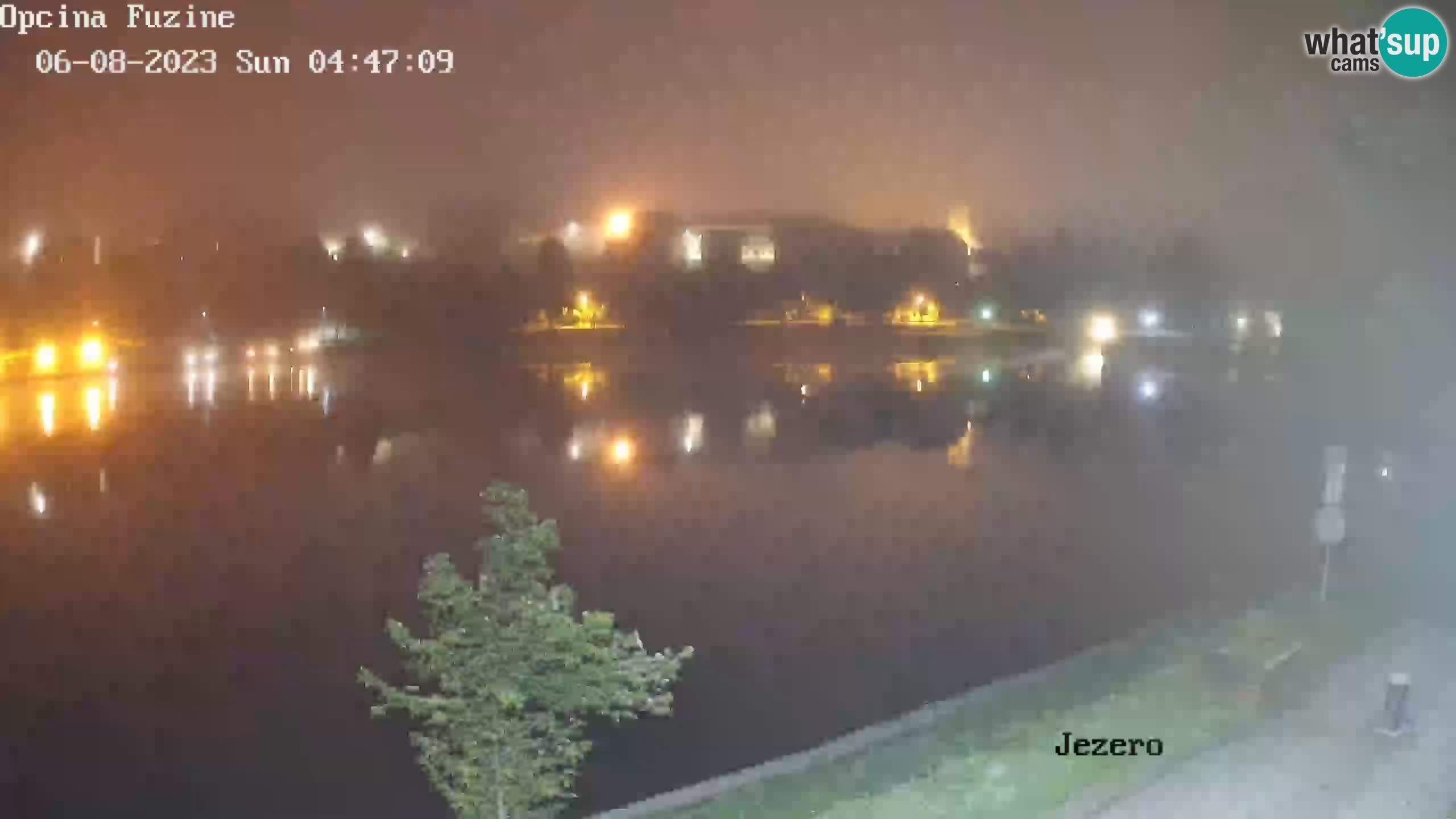 LIVE Lake Bajer livecam Bajersko Jezero Fužine