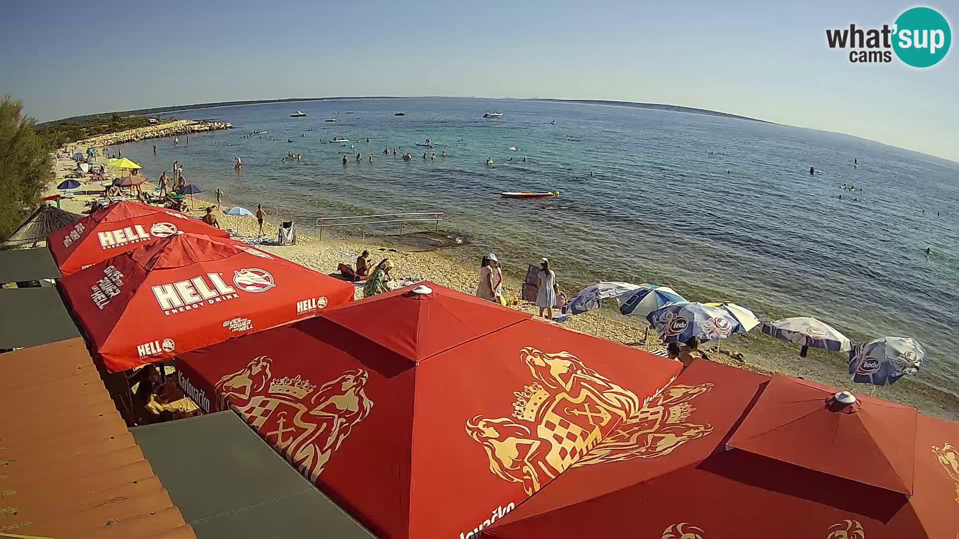 Spiaggia a Gajac – Pag