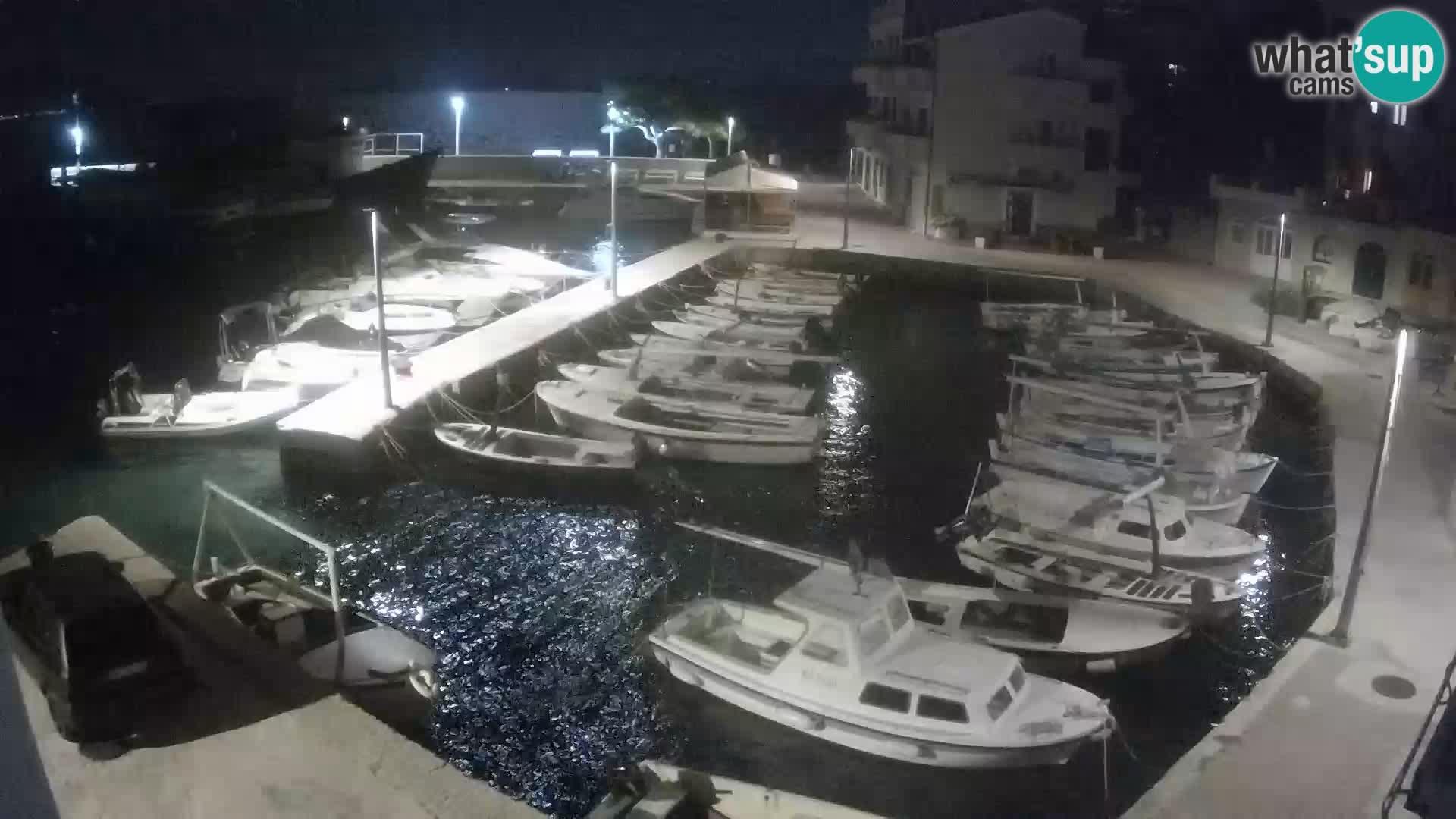 Web kamera Igrane – marina