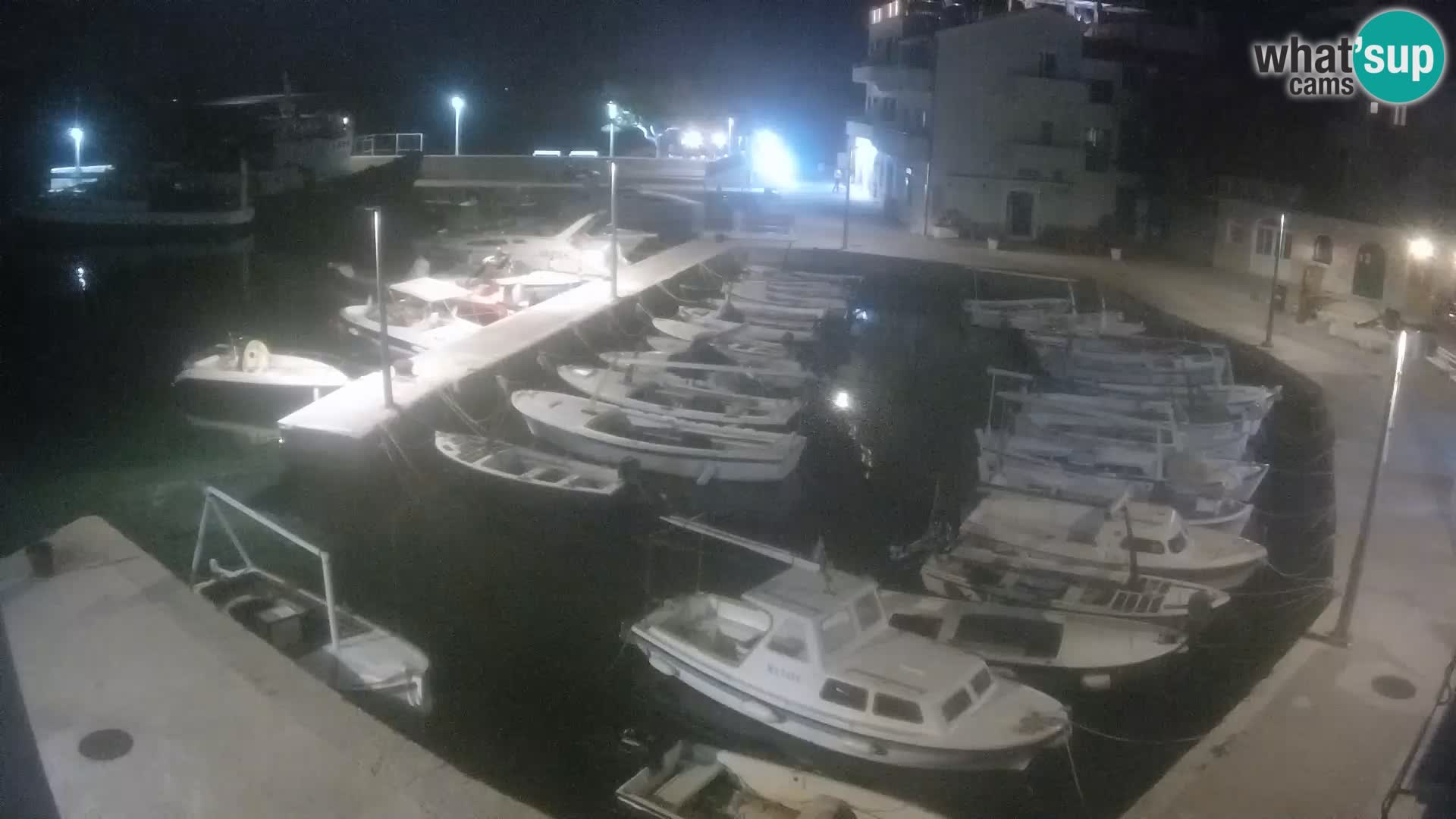 Webcam Igrane – hafen