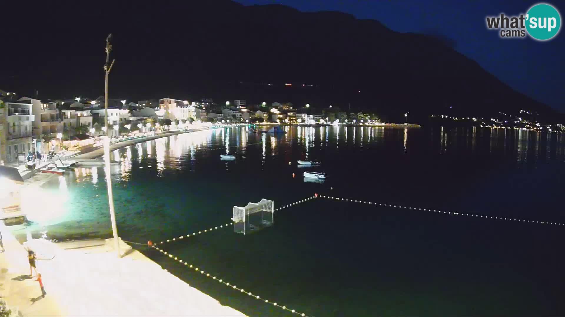 Web kamera Igrane – Središnja plaža
