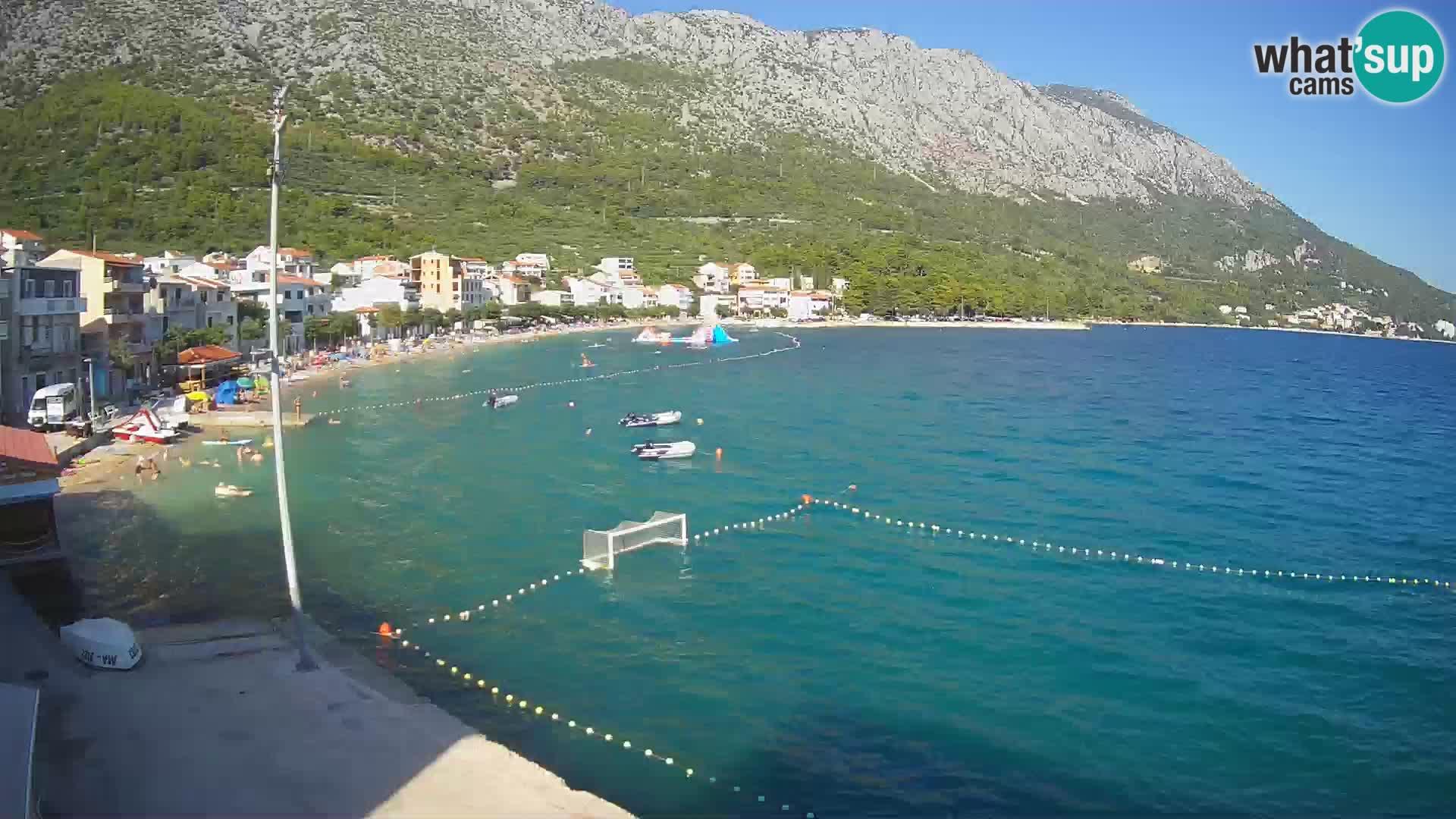 Webcam Live Igrane – Zentralstrand