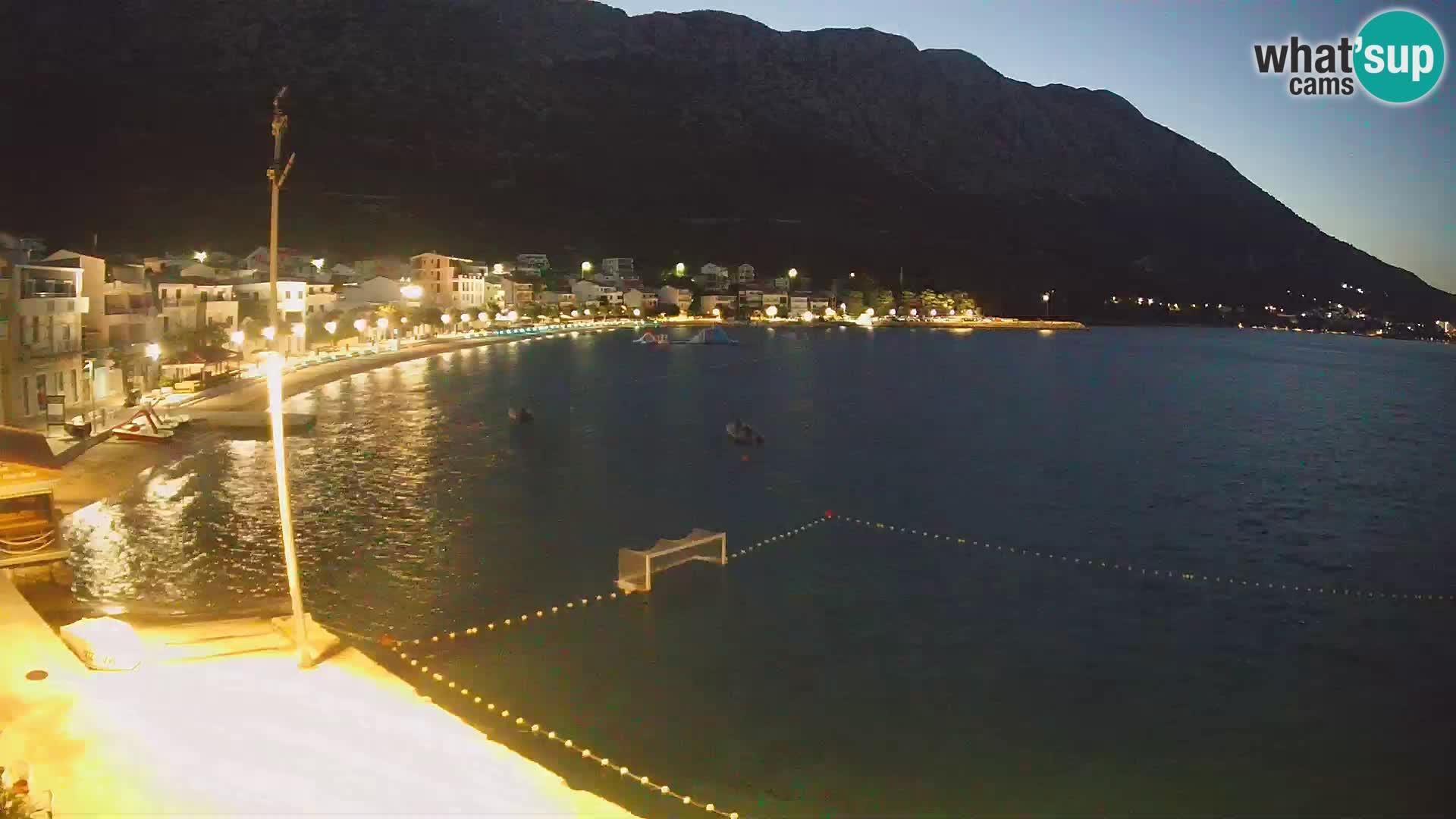 Webcam Live Igrane – plage centrale