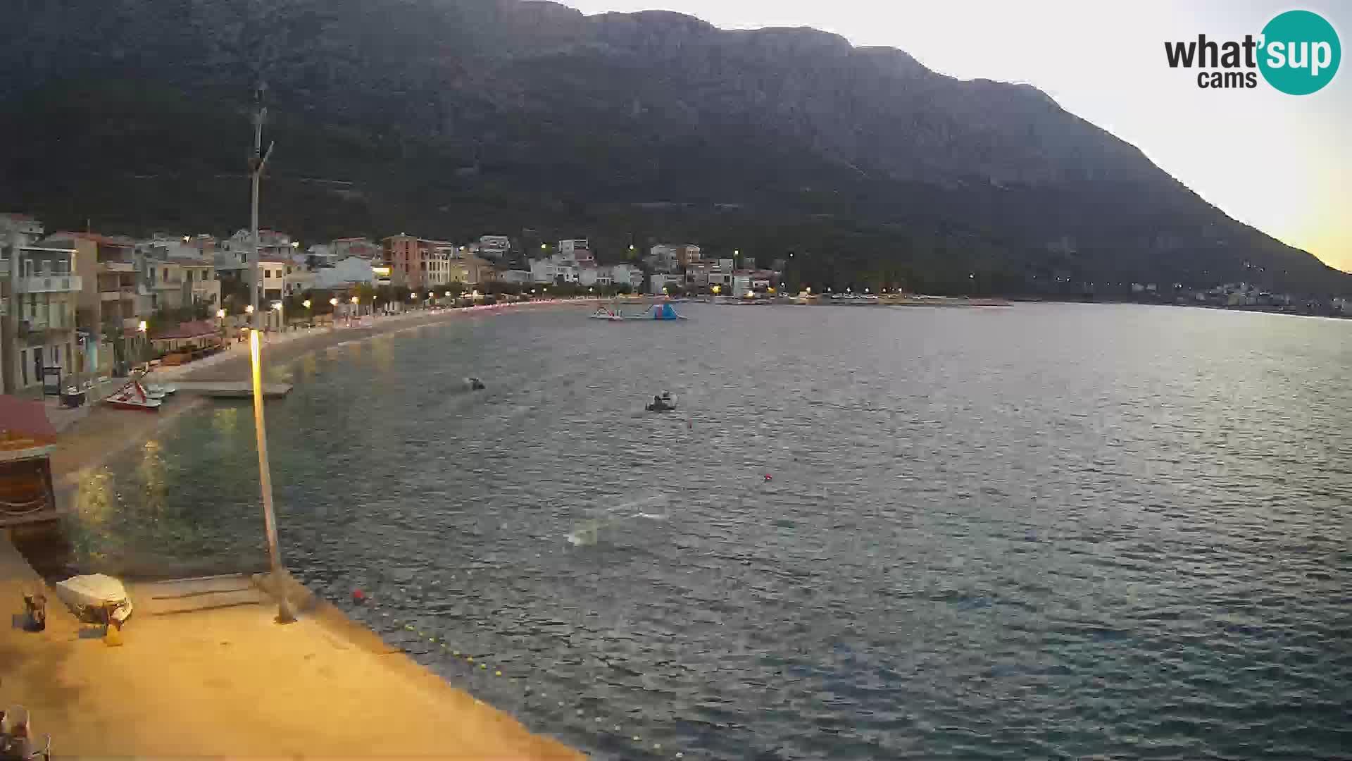 Spletna kamera Igrane – Osrednja plaža