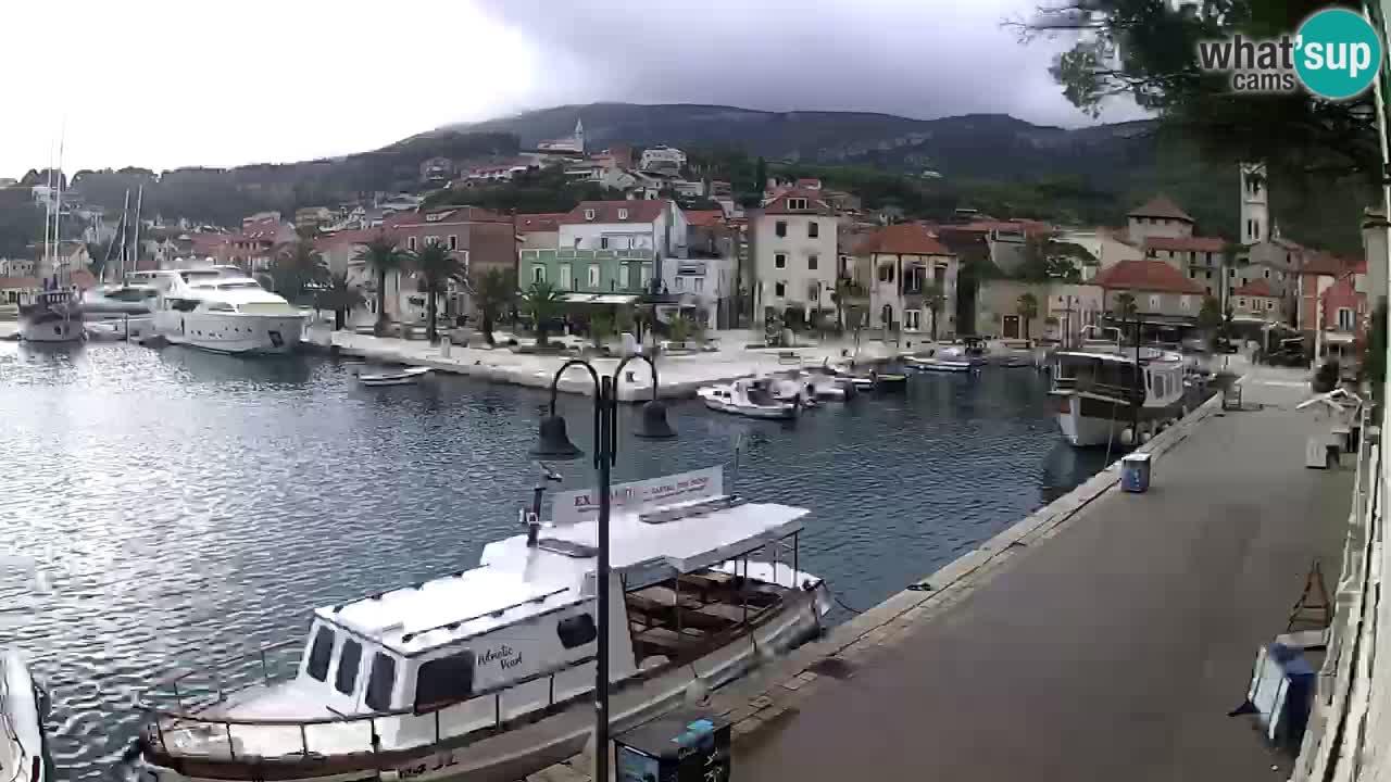 Spletna kamera Hvar – Jelsa