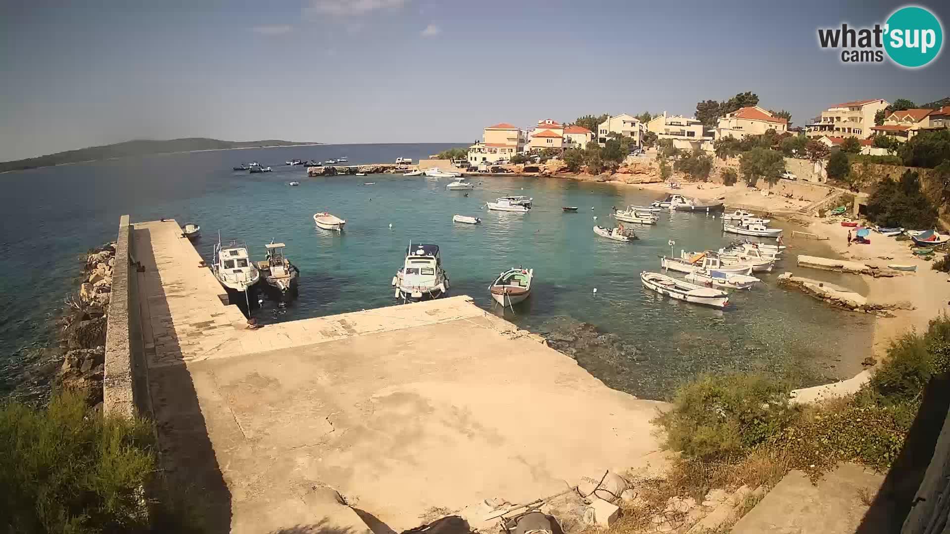 Zavala – Jelsa kamera v živo Hvar