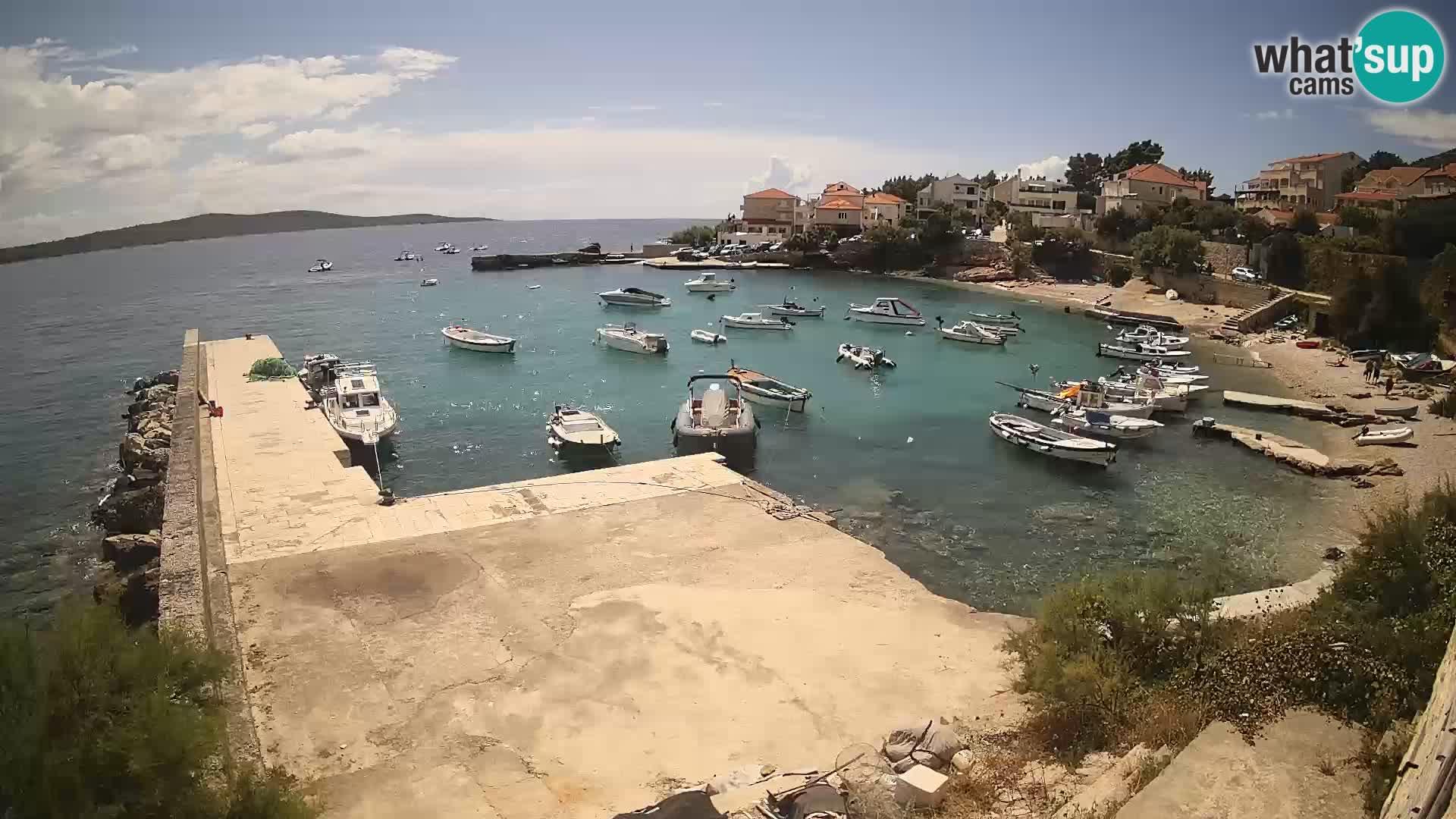 Zavala Live webcam Jelsa – Hvar