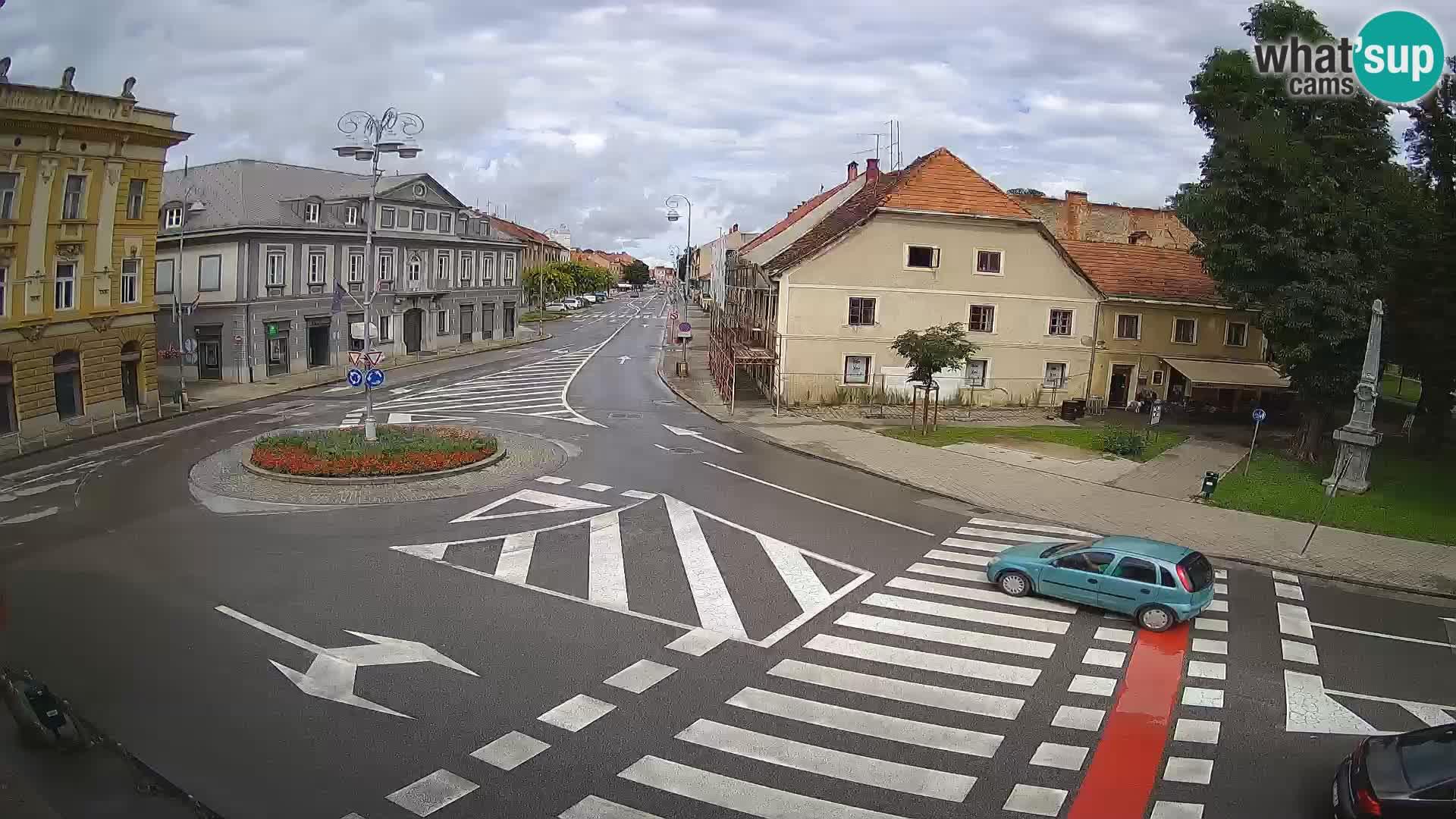 Karlovac – Lana center i calle Peter Zrinski