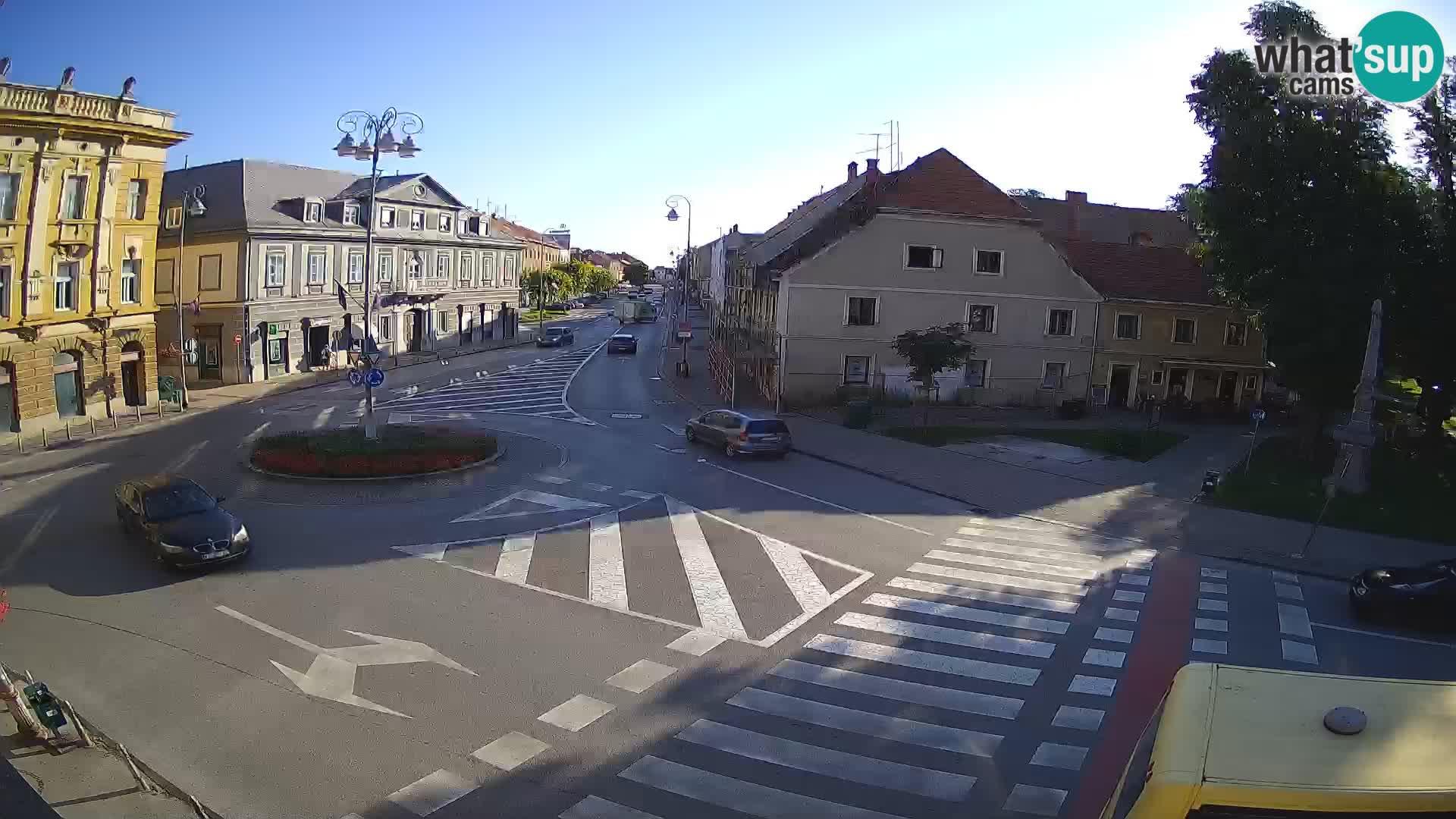 Karlovac – Lana center in ulica Peter Zrinski