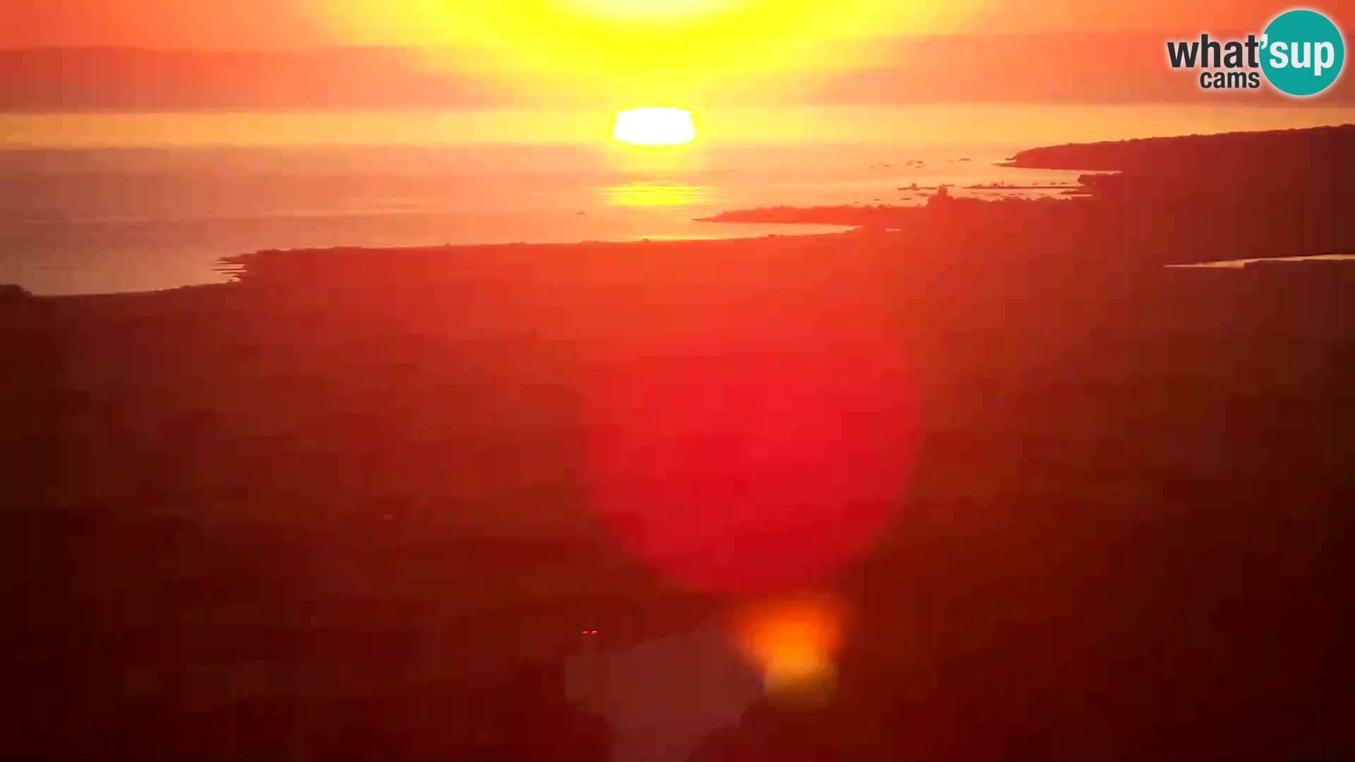 Vista de la fábrica de queso Gligora Kolan – Isla Pag