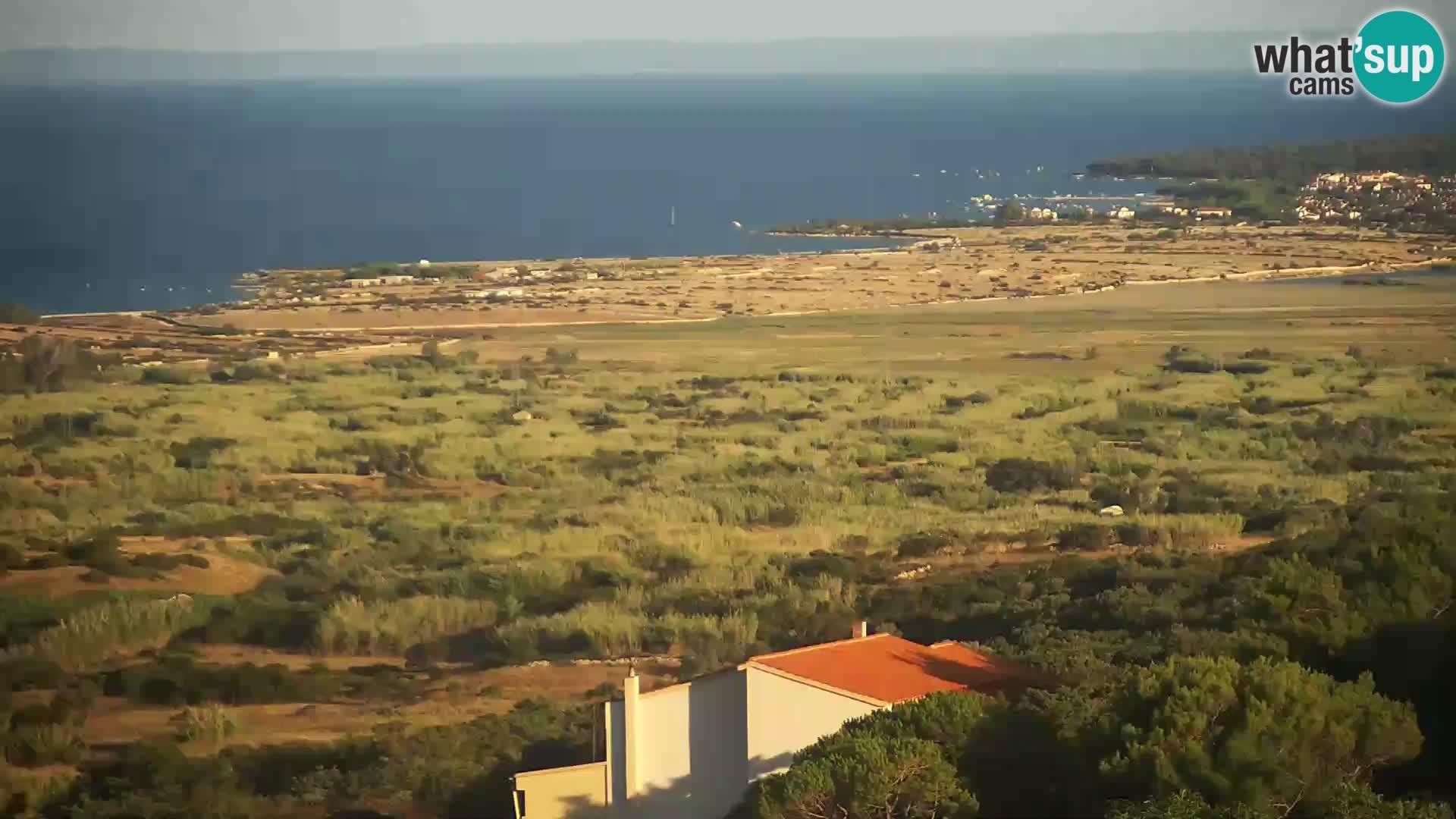 Pogled sa Sirane Gligora na Kolansko polje, blato  i ornitološki rezervat