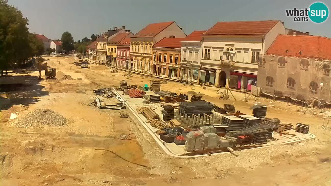Web kamera Koprivnica – Zrinski trg