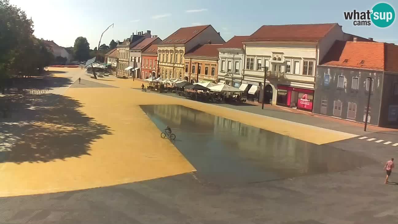 Webcam Koprivnica – Zrinski trg
