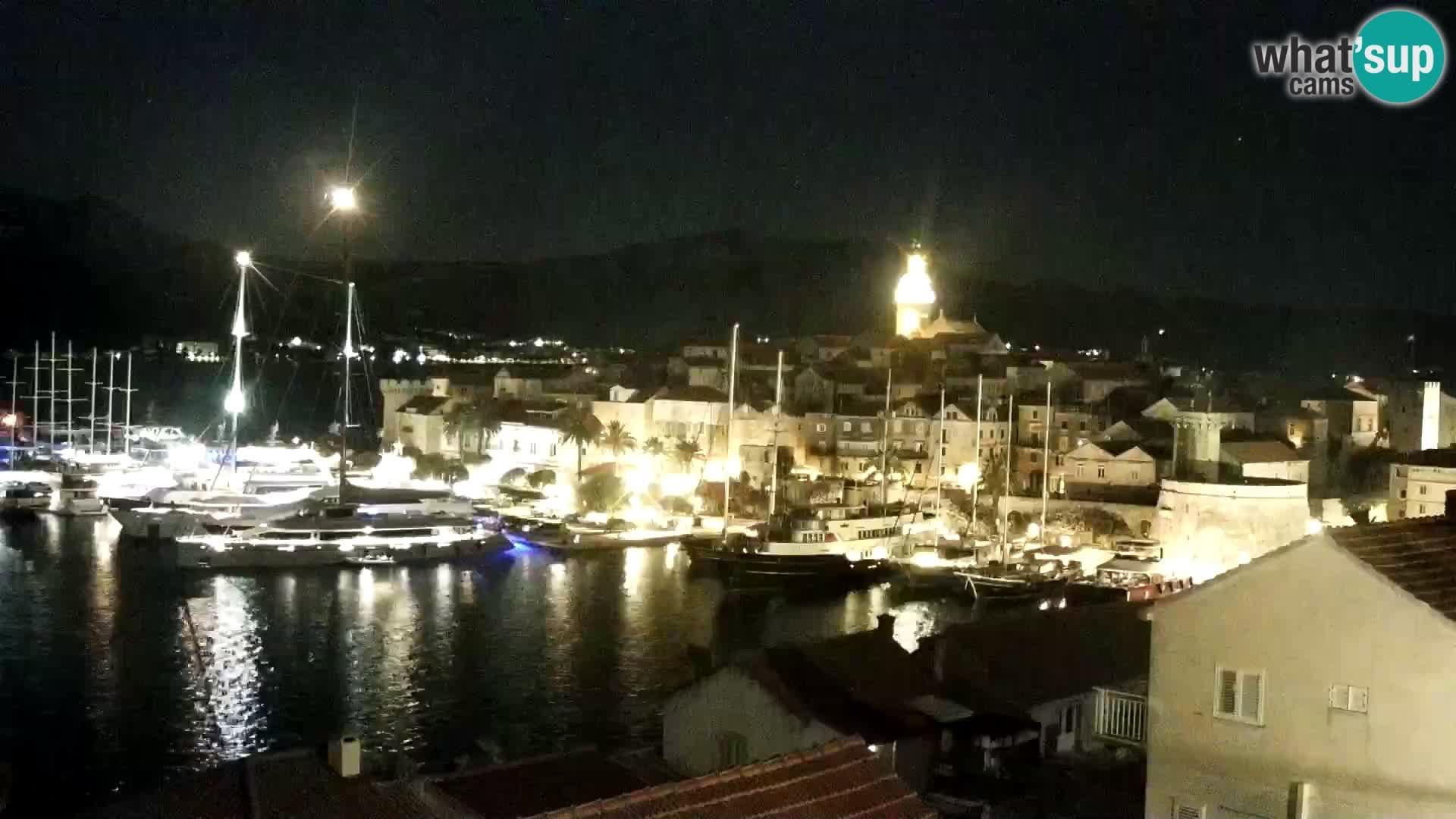 Korčula Live webcam