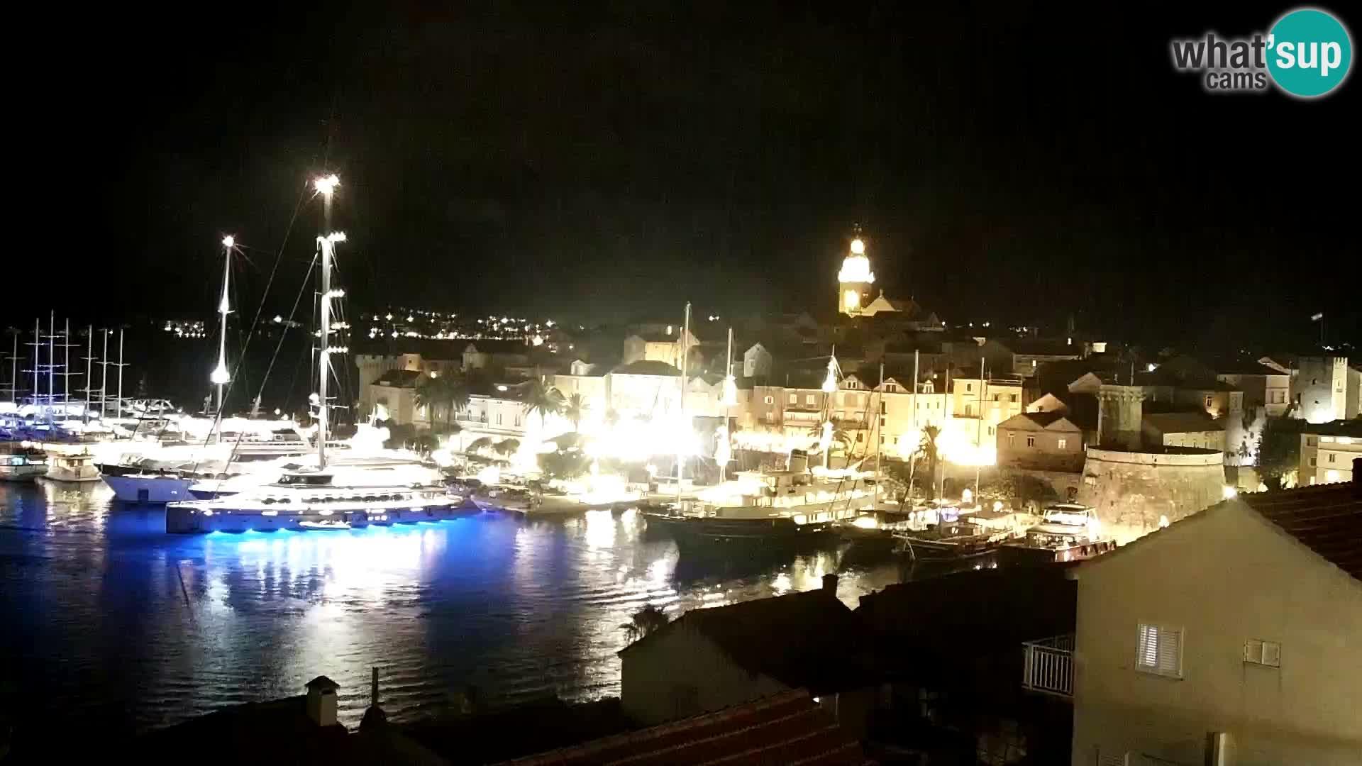 Panorama grada Korčula