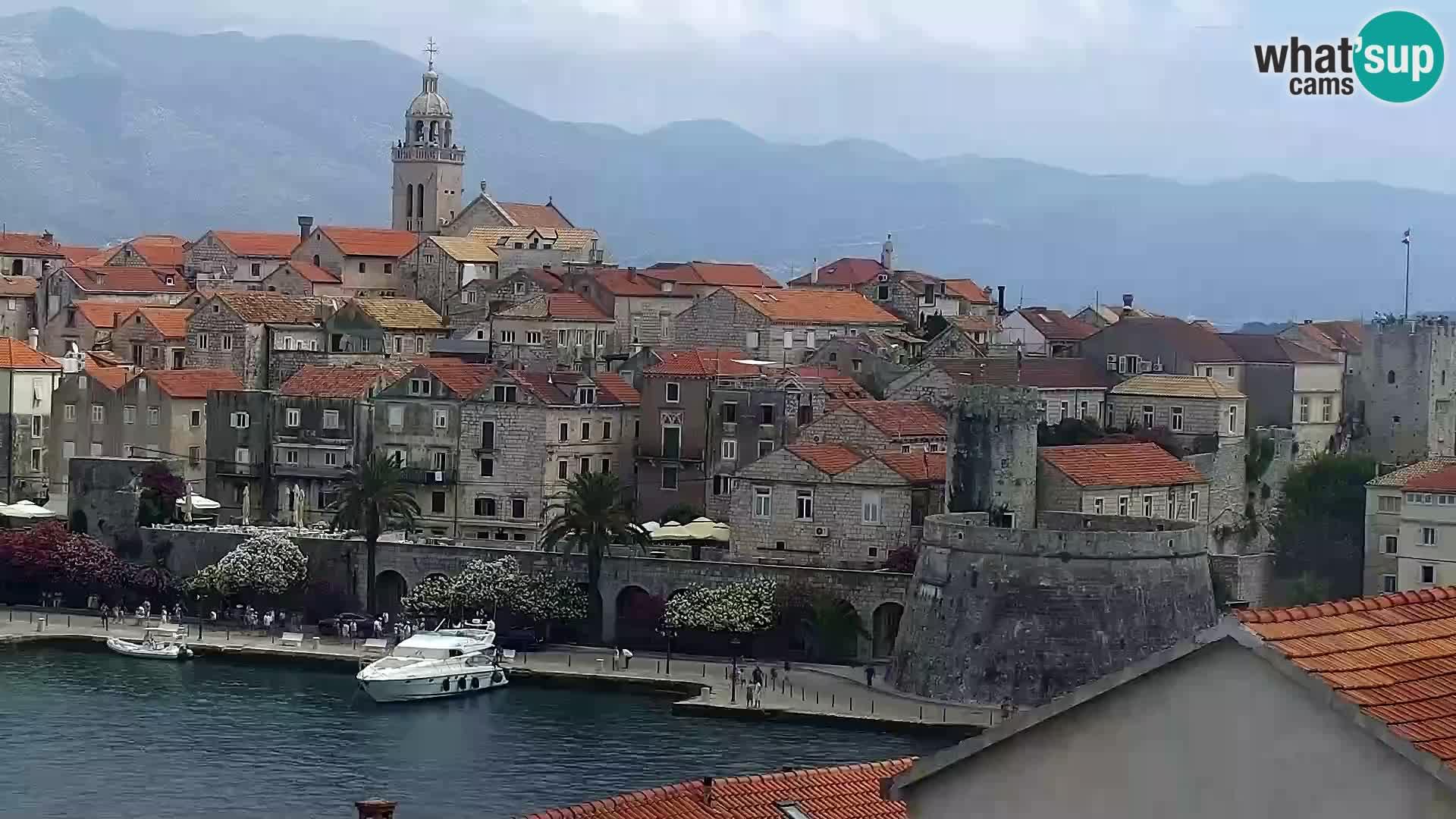 Camera en vivo Korčula