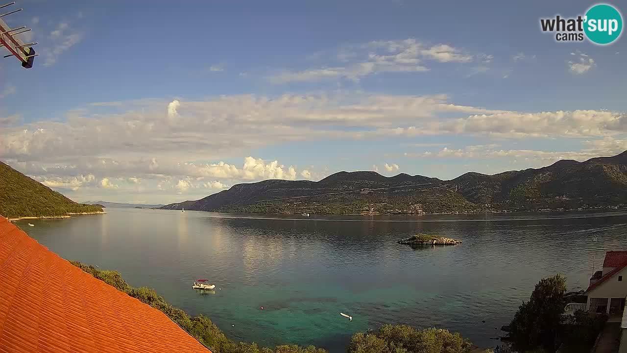 Camera en vivo Korčula – Tri Žala – Pelješac