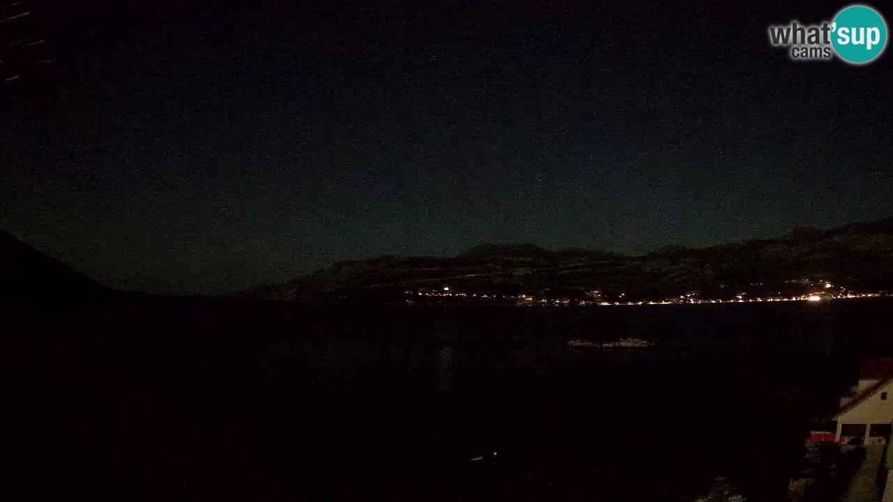 Live Korčula webcam – Tri Žala